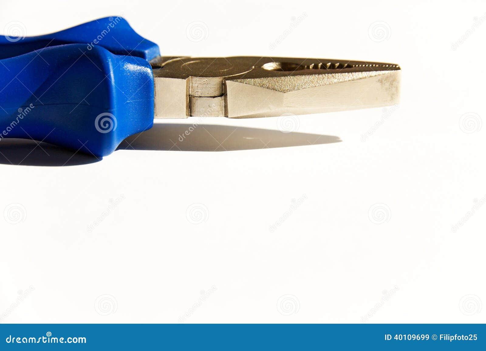 Πένσες με το μπλε πιάσιμο
