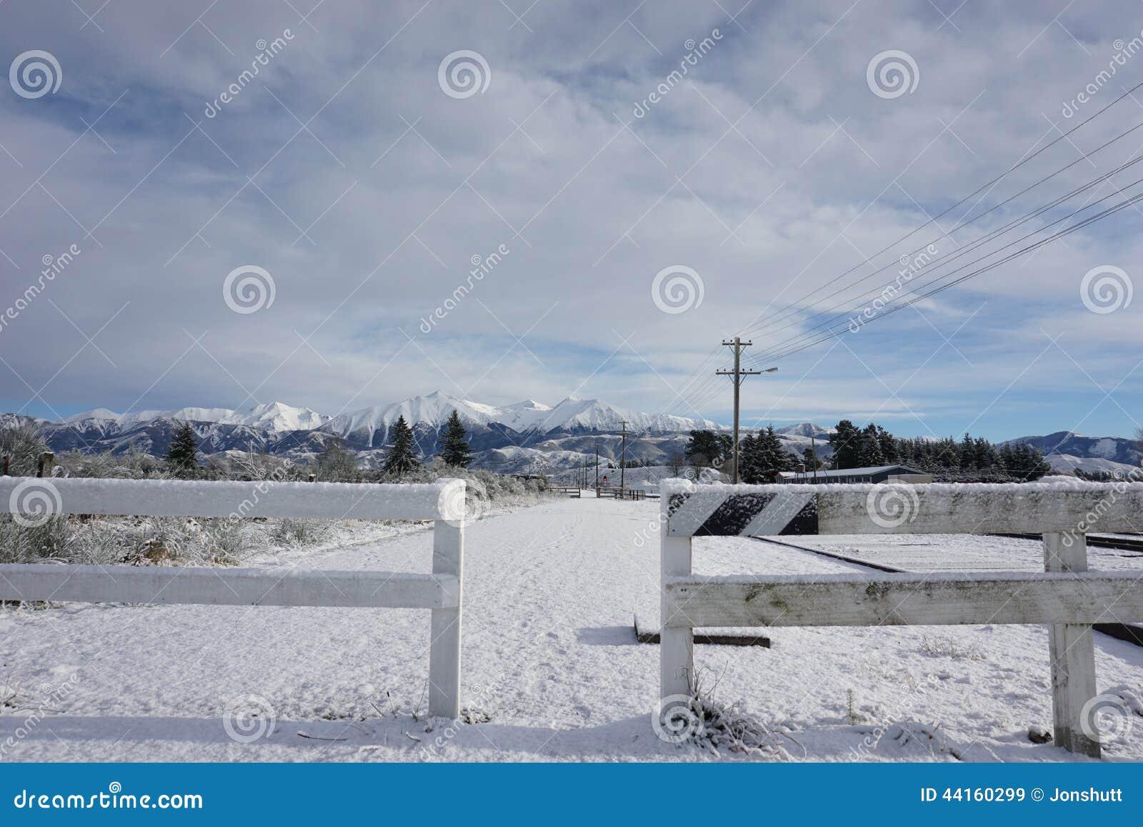 Πέρασμα Arthurs στο χιόνι