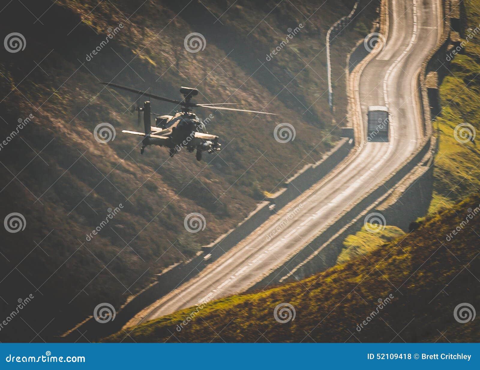 Πέταγμα ελικοπτέρων Apache