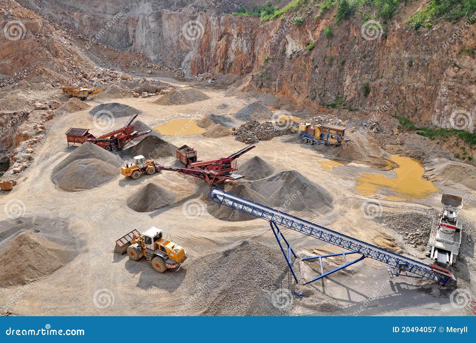 πέτρα λατομείων ορυχείων