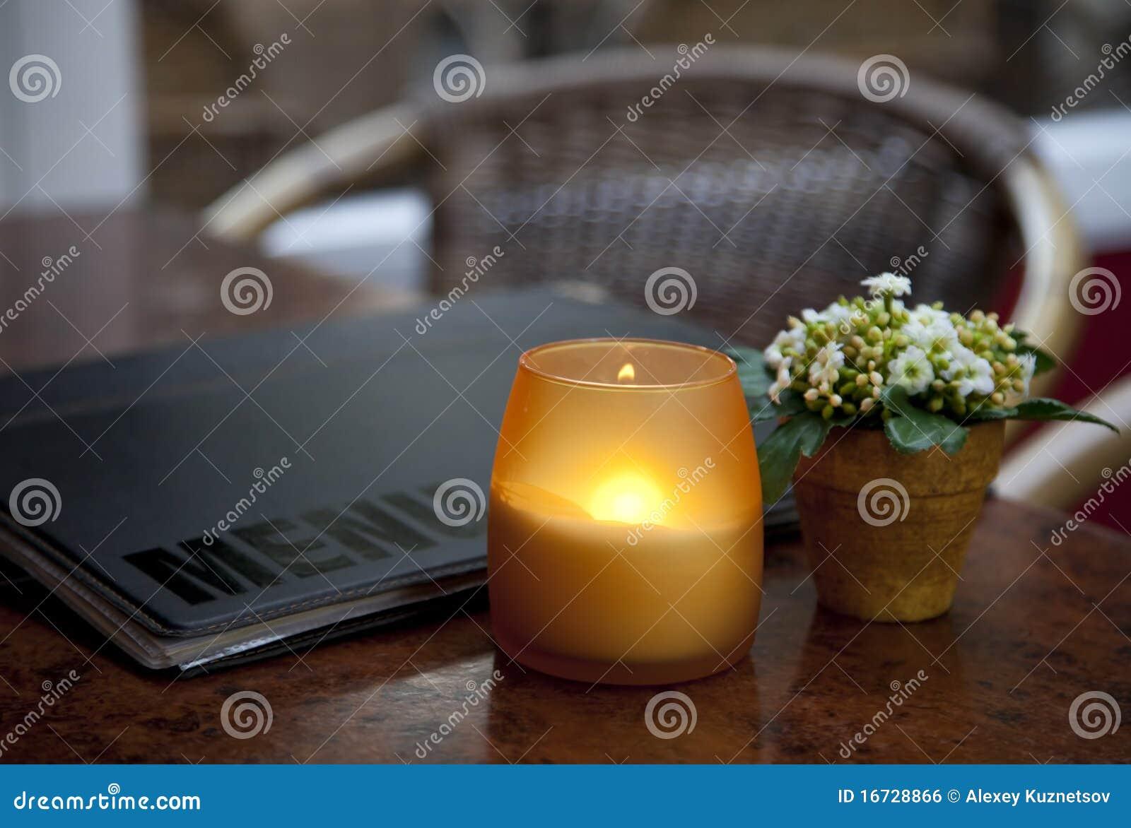 πίνακας κεριών καφέδων