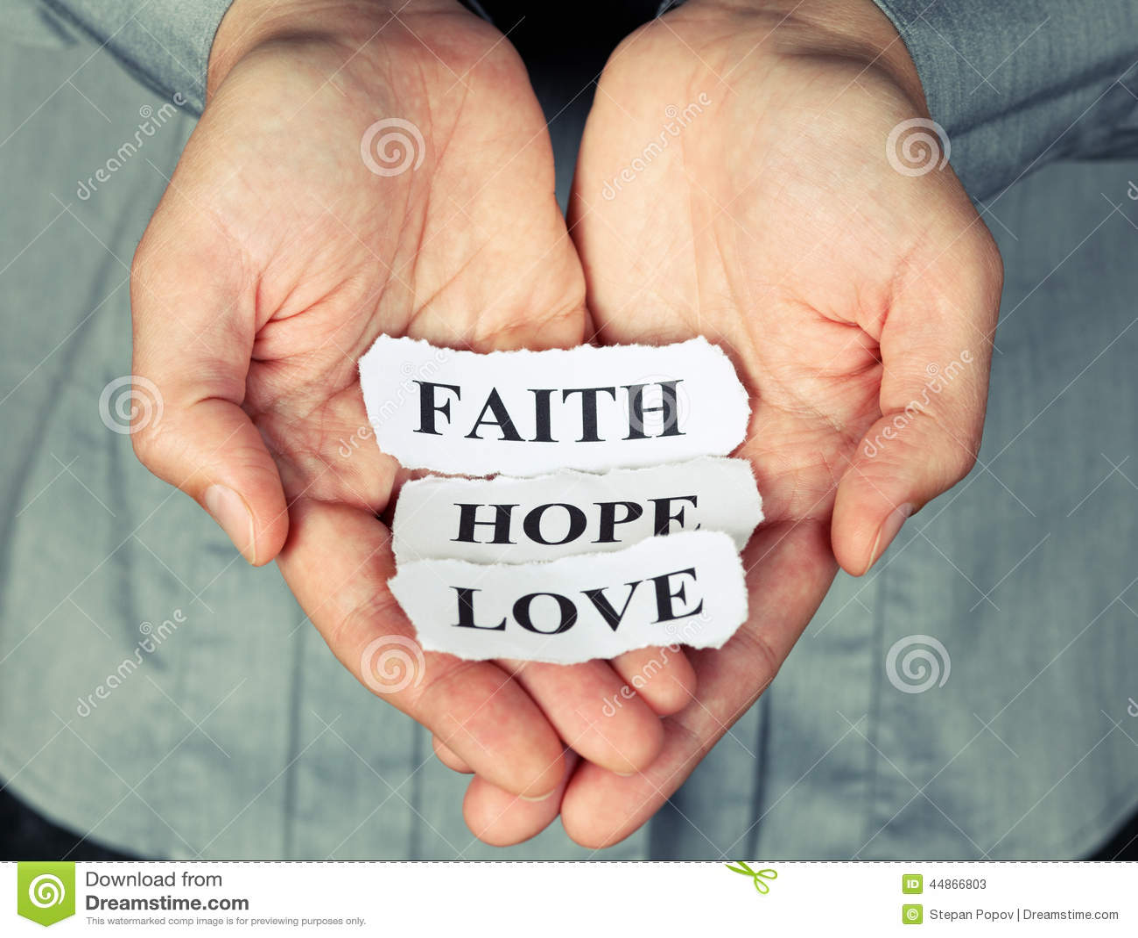 Πίστη, ελπίδα και αγάπη