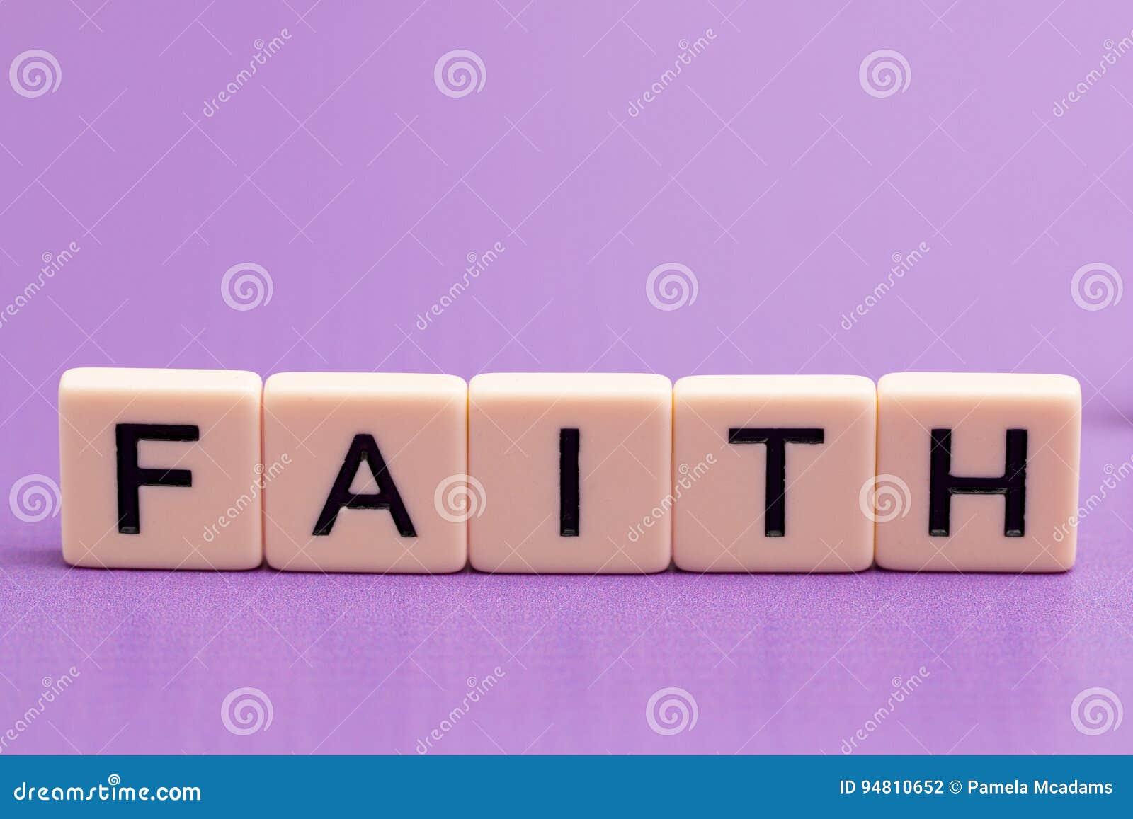 Πίστη που συλλαβίζουν έξω