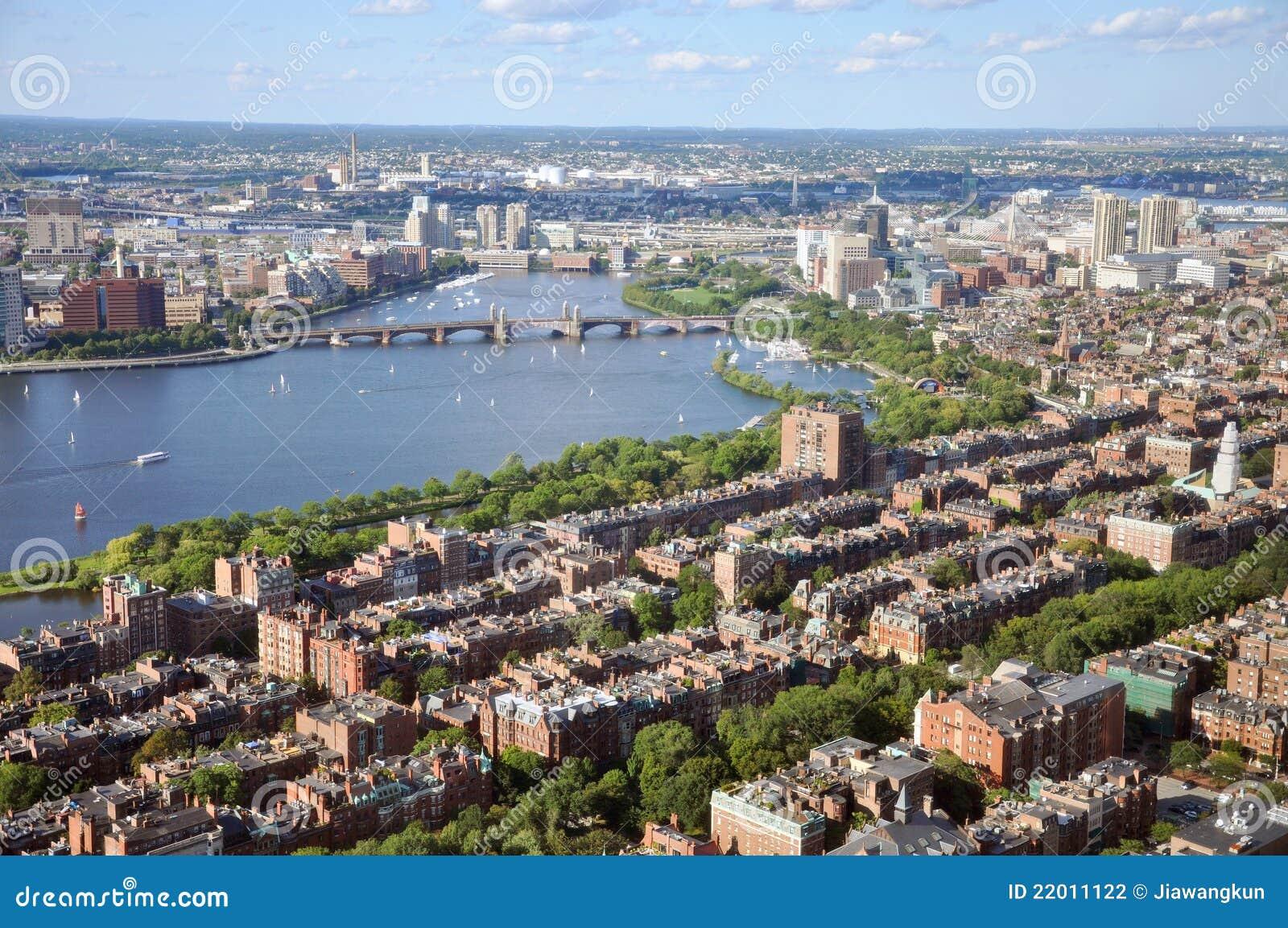 πίσω ποταμός της Βοστώνης Charle