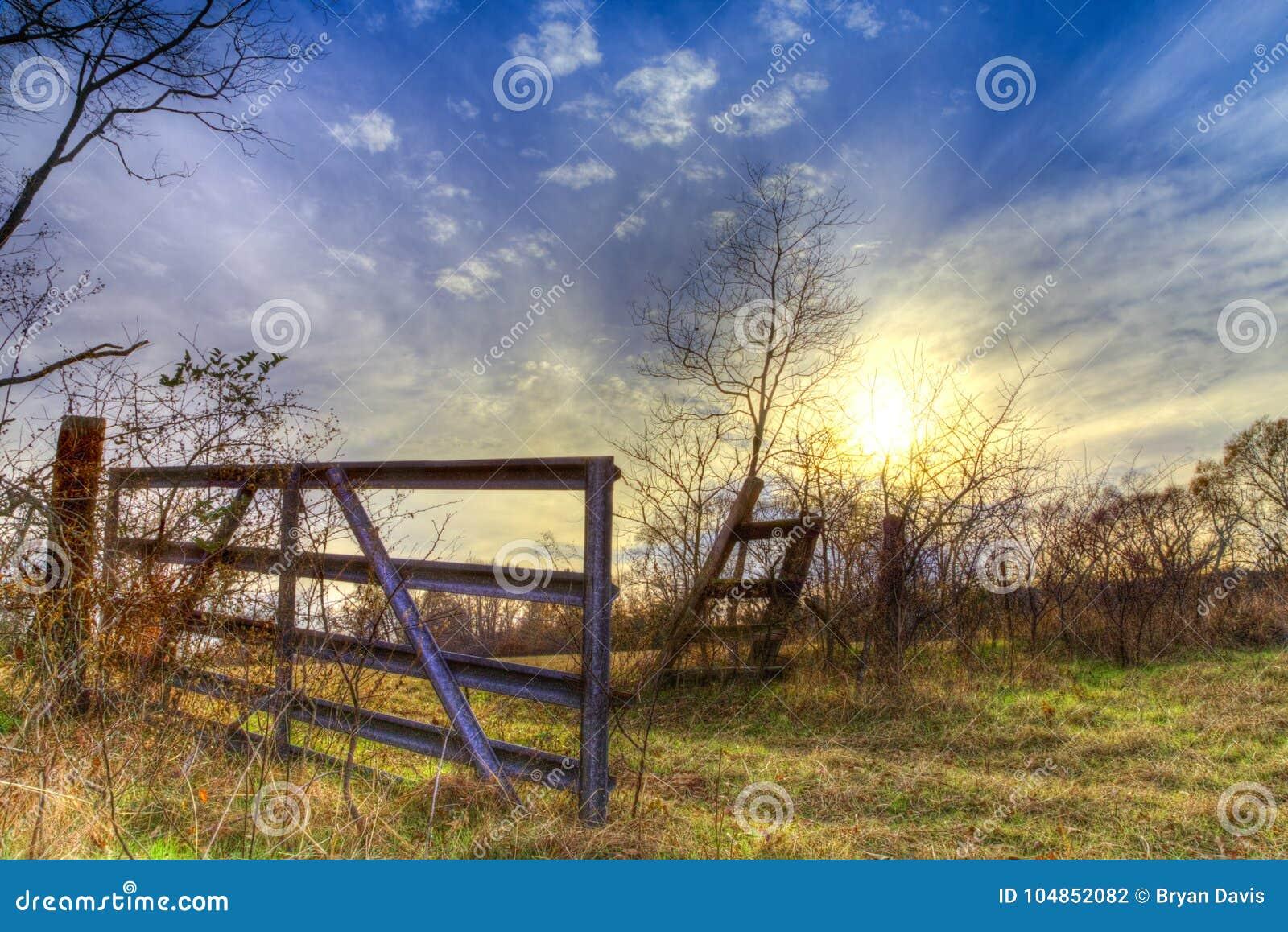 Πίσω πύλη στο ανατολικό Τέξας