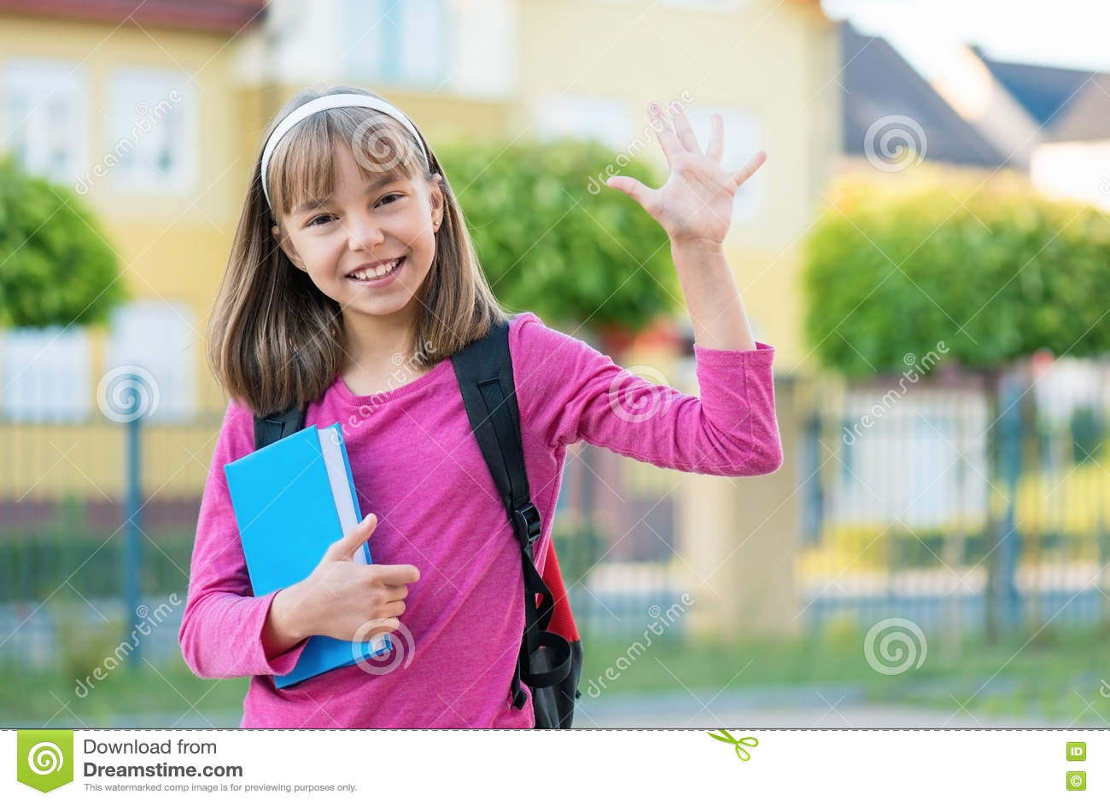 πίσω σχολείο κοριτσιών