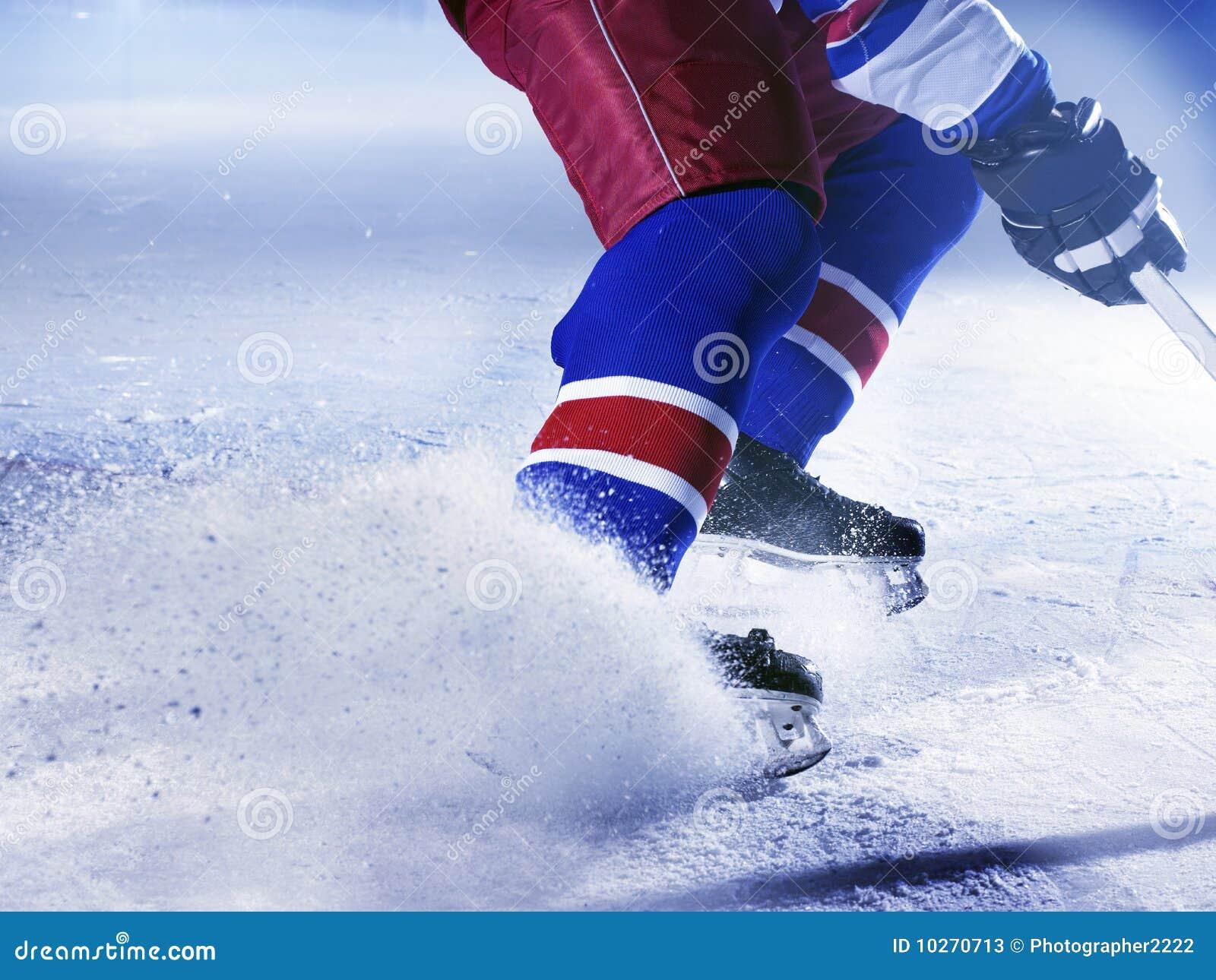 παίκτης πάγου χόκεϋ