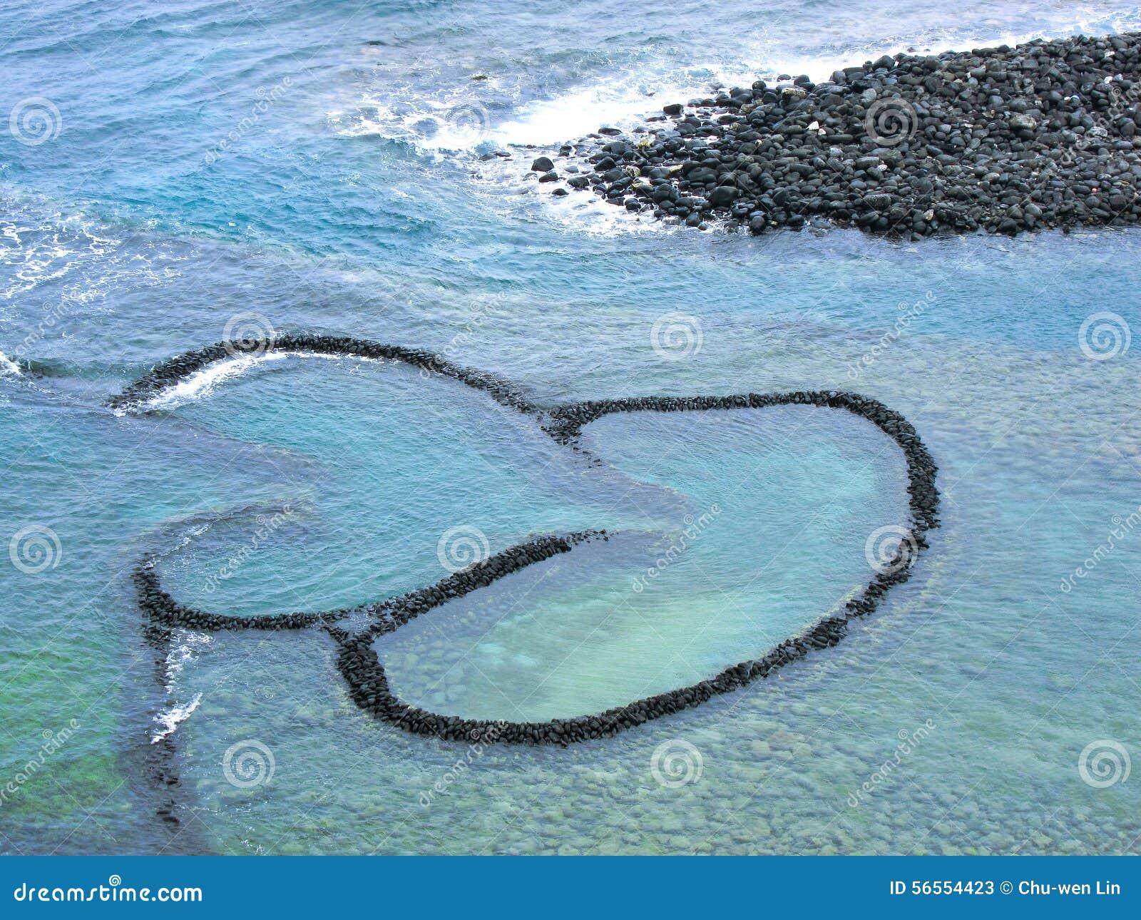 Download Παγίδα ψαριών δίδυμος-καρδιών Στοκ Εικόνα - εικόνα από φυσικός, διακοπές: 56554423