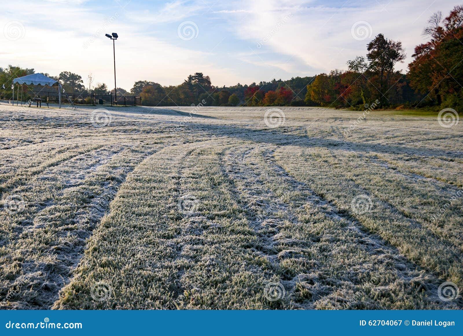 Παγετός πρωινού στον τομέα