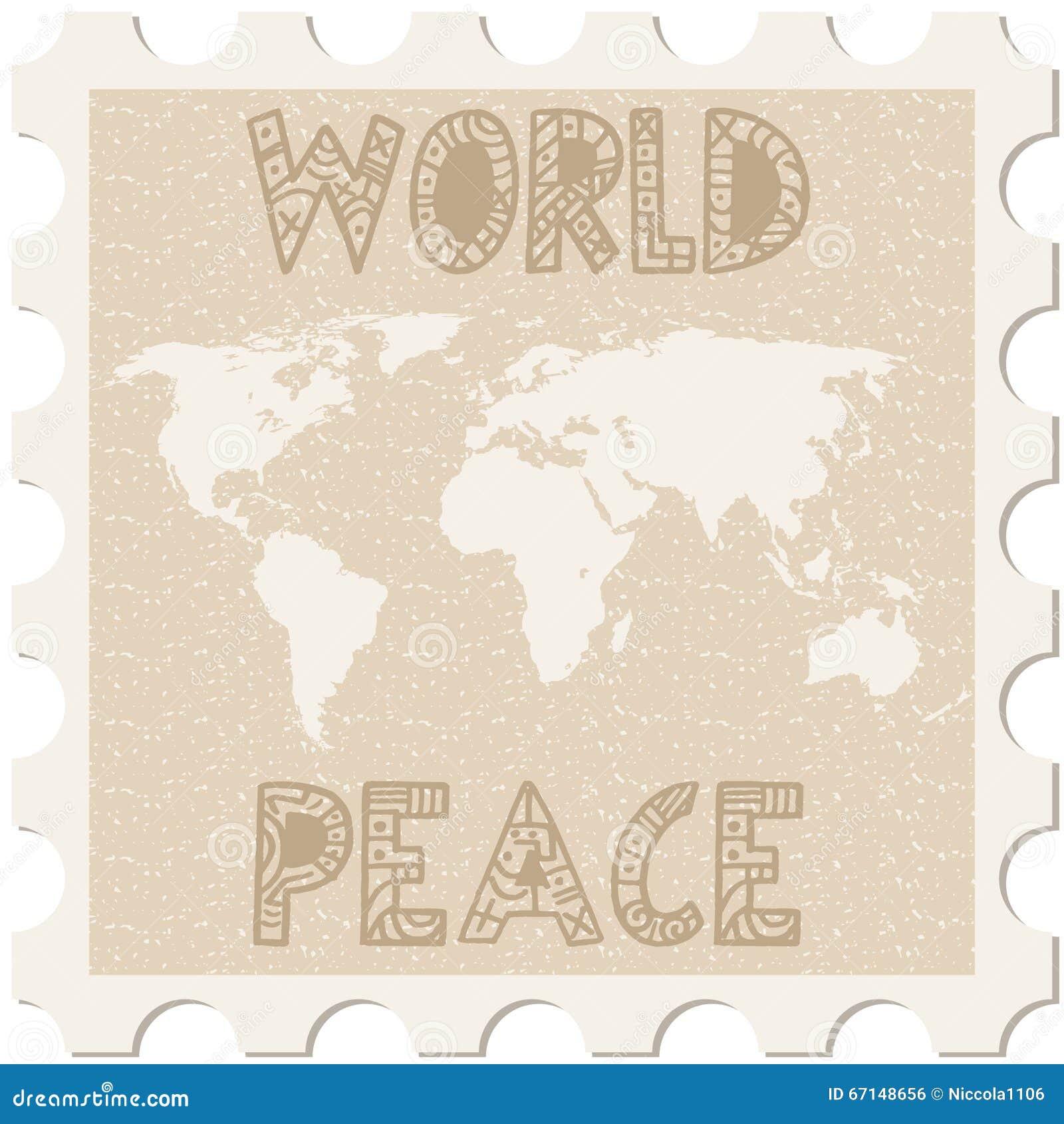 Παγκόσμια ειρήνη γραμματοσήμων