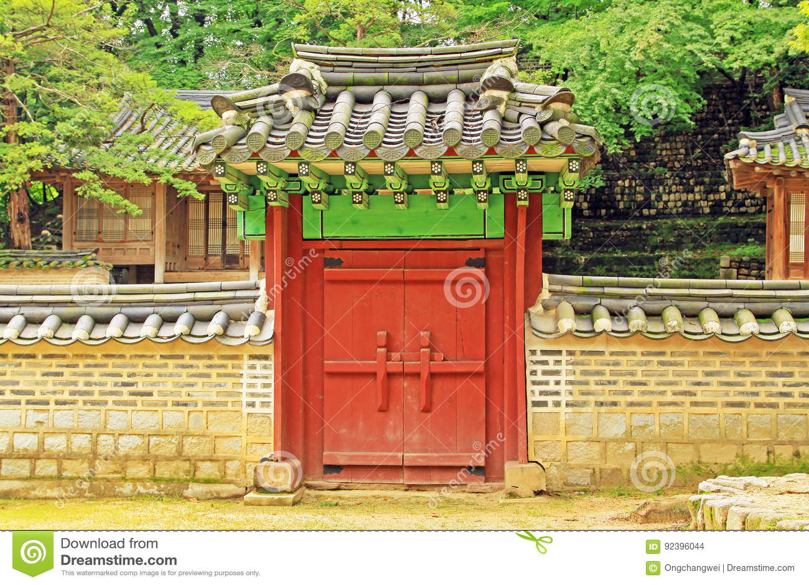 Παγκόσμια κληρονομιά της ΟΥΝΕΣΚΟ της Κορέας - παλάτι της Σεούλ Changdeokgung