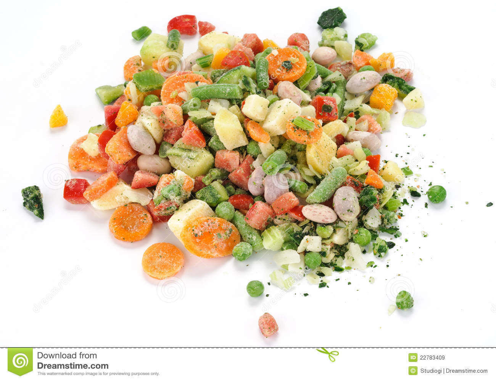 παγωμένα λαχανικά σούπας