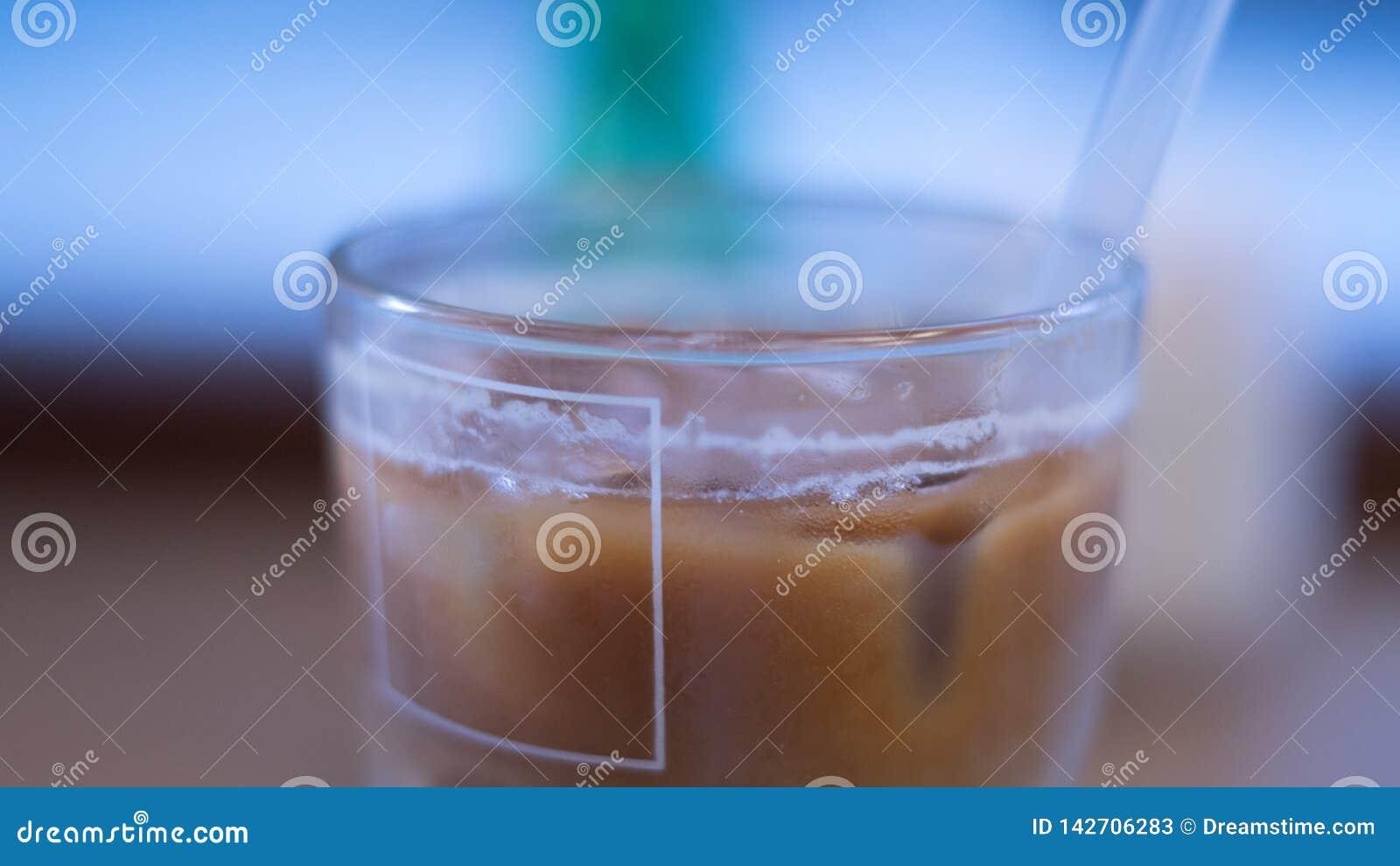Παγωμένος καφές blury