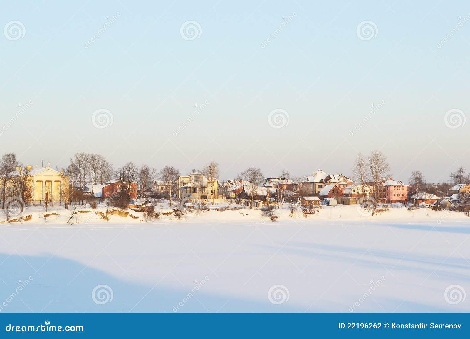 παγωμένος ποταμός neva