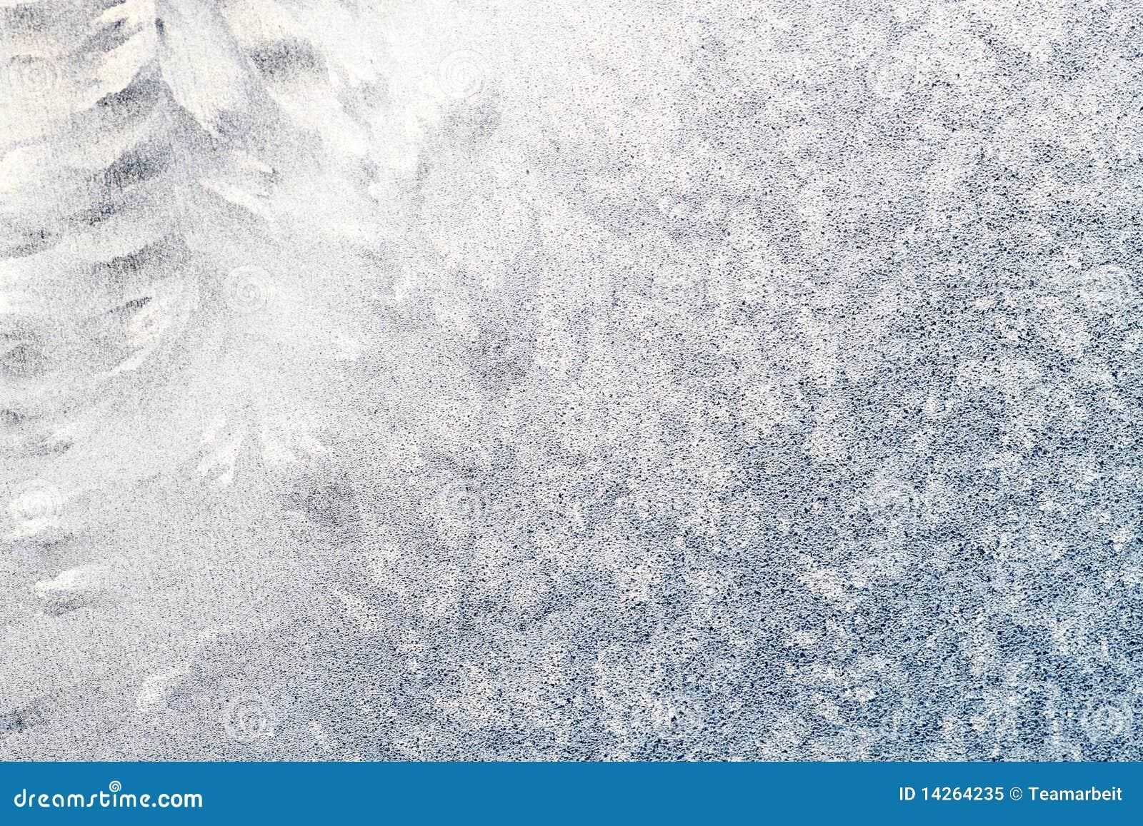 παγωμένο παράθυρο tracery