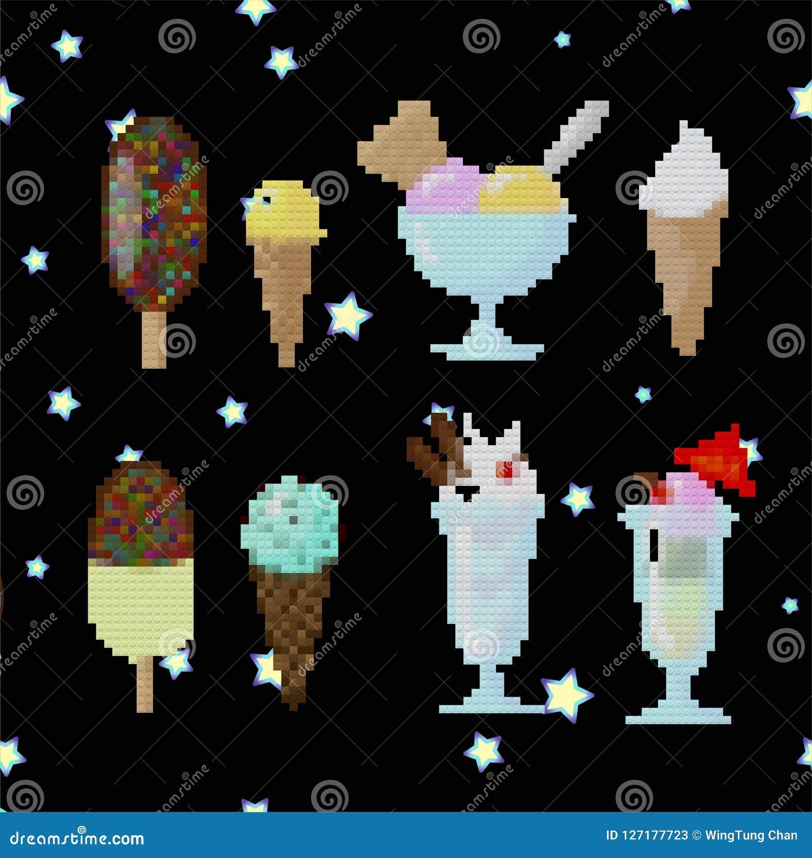 Παγωτό στην τέχνη lego