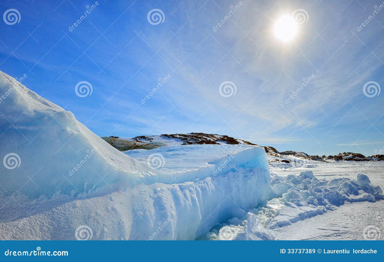 Παγόβουνο στη Γροιλανδία