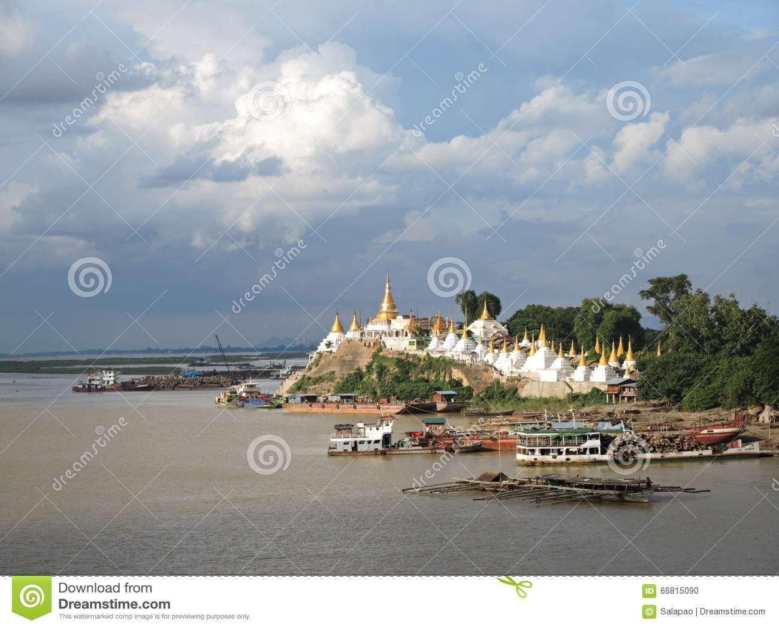 Παγόδα/Sagaing Yat KYAT Shwe