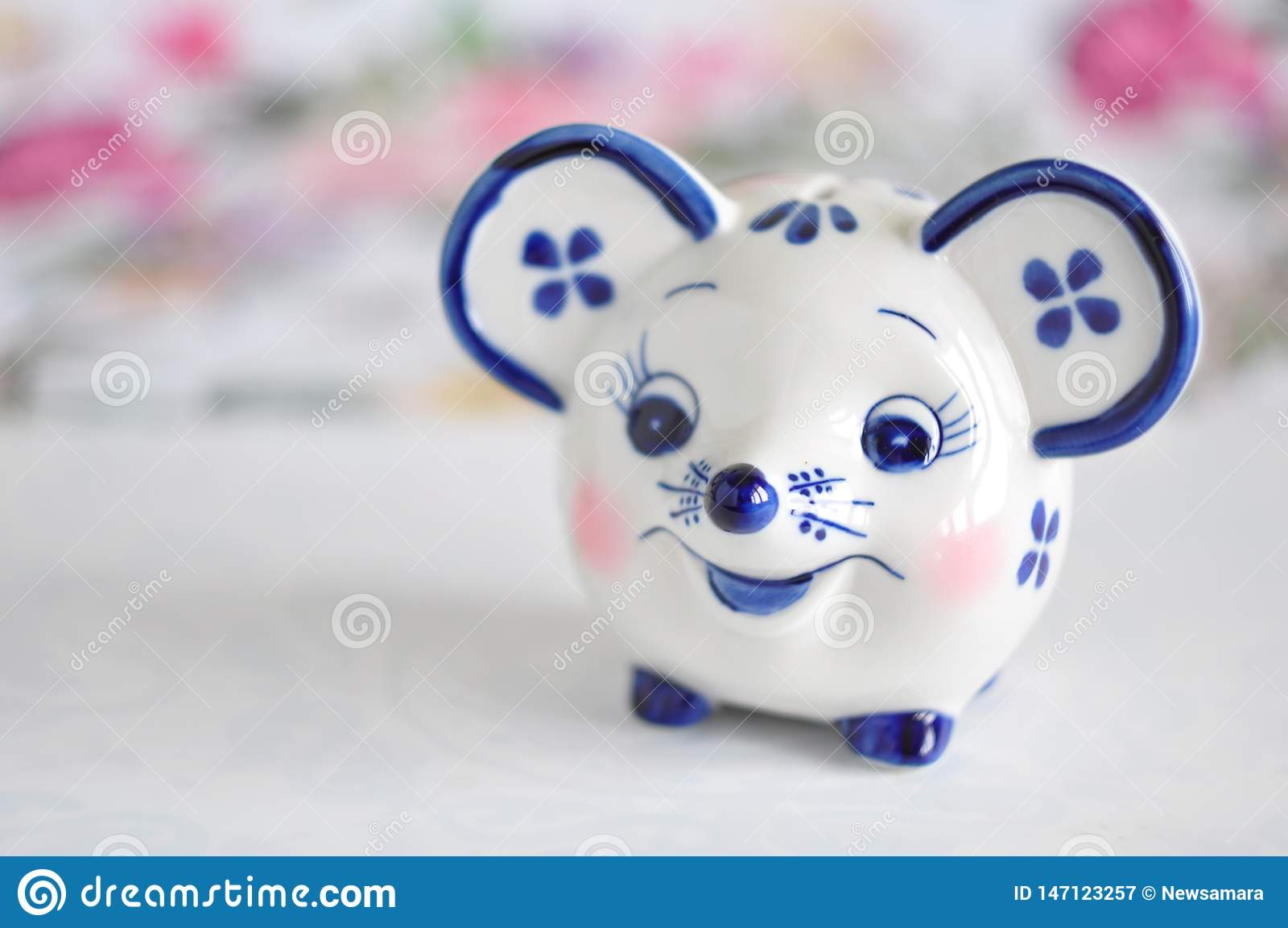 Παιχνίδια moneybank Gzhel