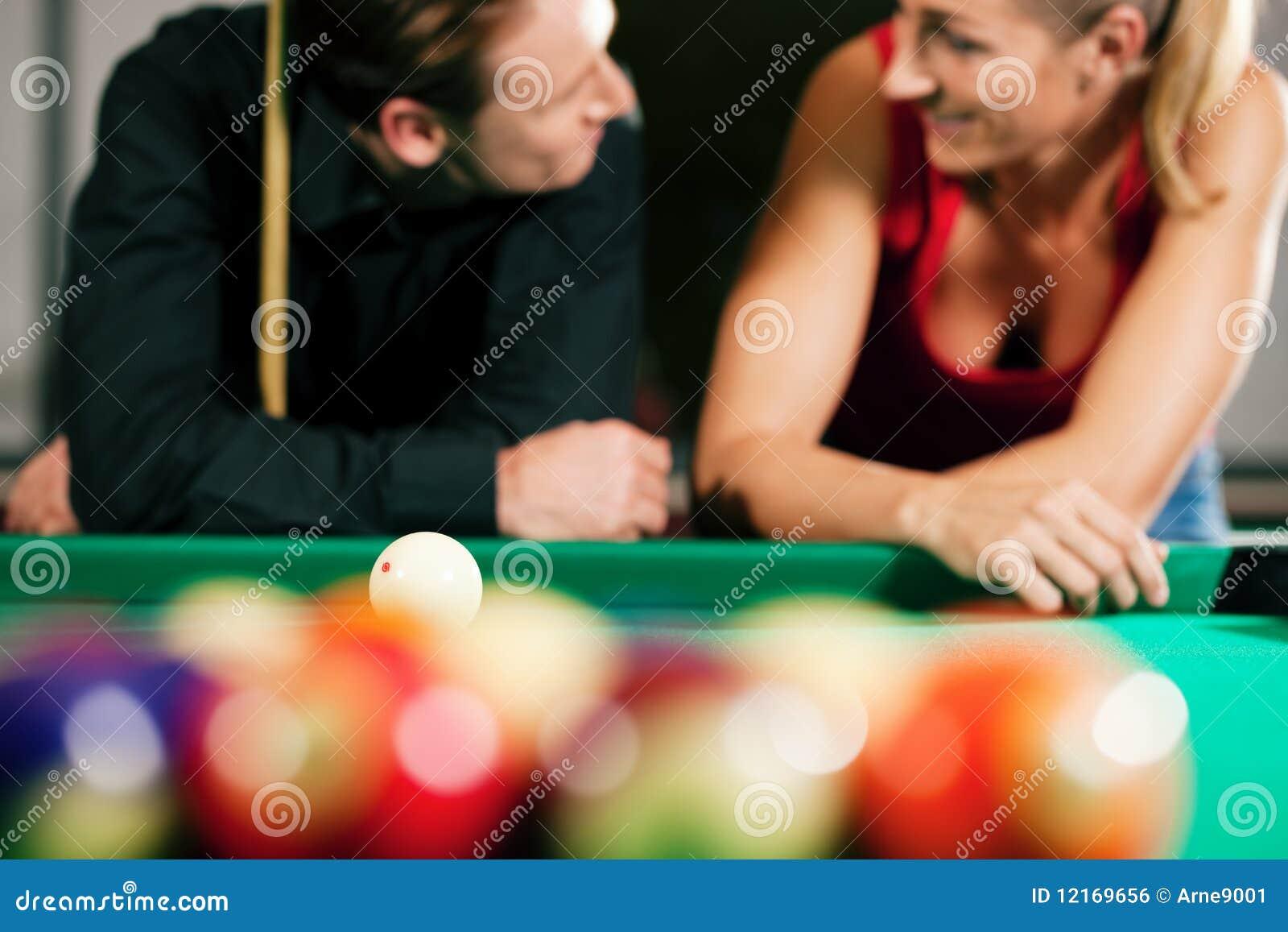 παιχνίδι ζευγών μπιλιάρδο&u