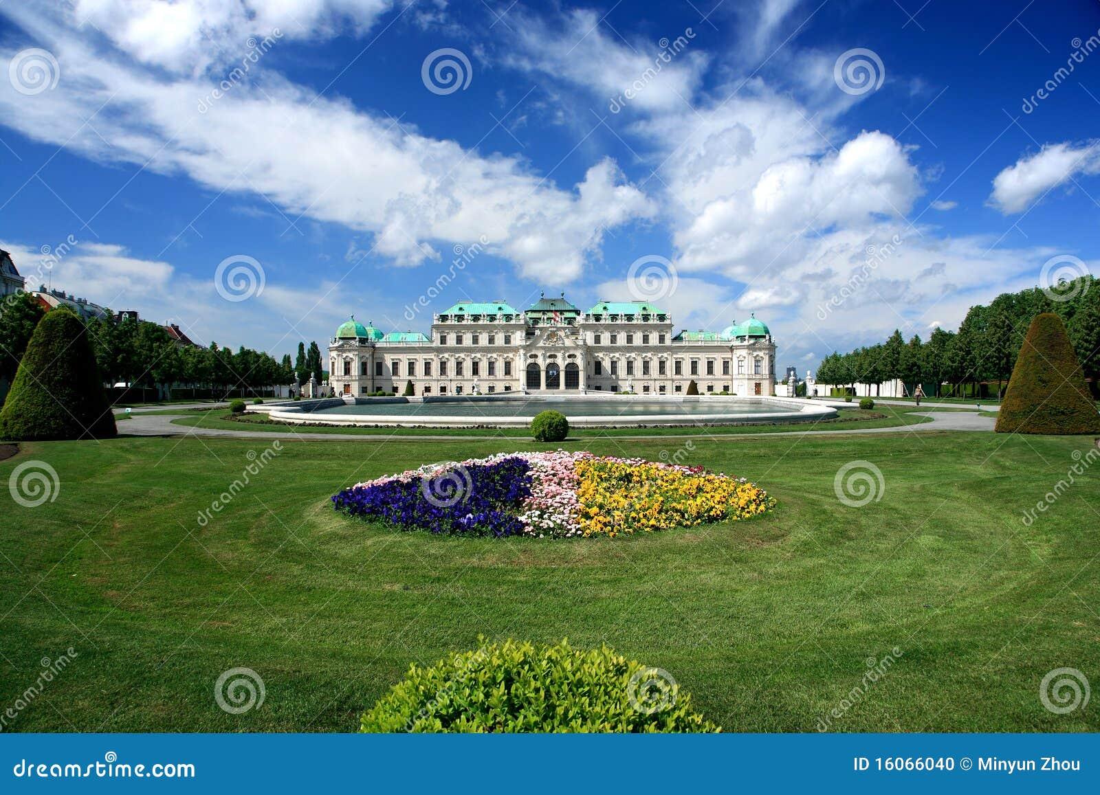 παλάτι Βιέννη πανοραμικών π&upsilon