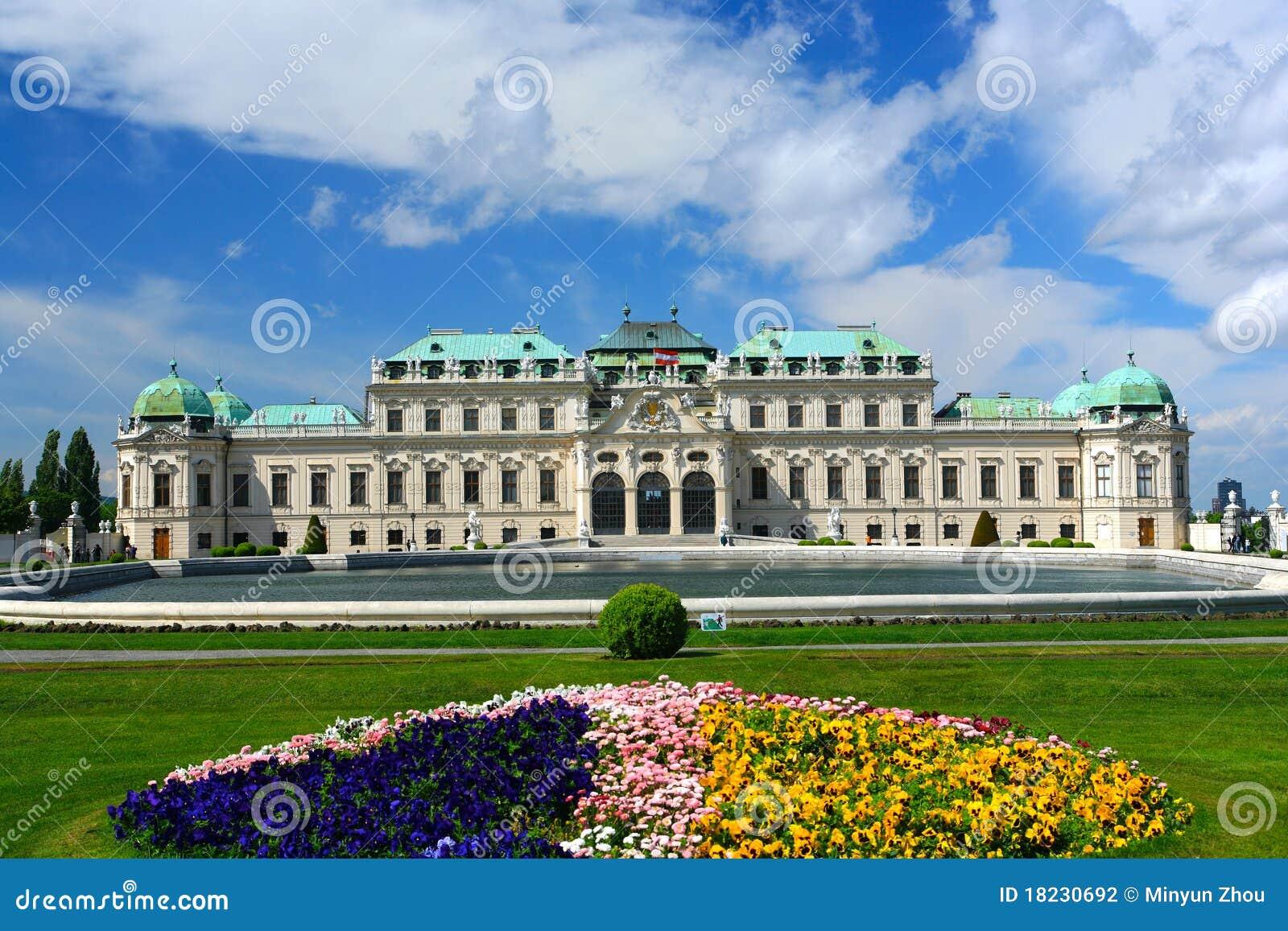 παλάτι Βιέννη πανοραμικών πυ