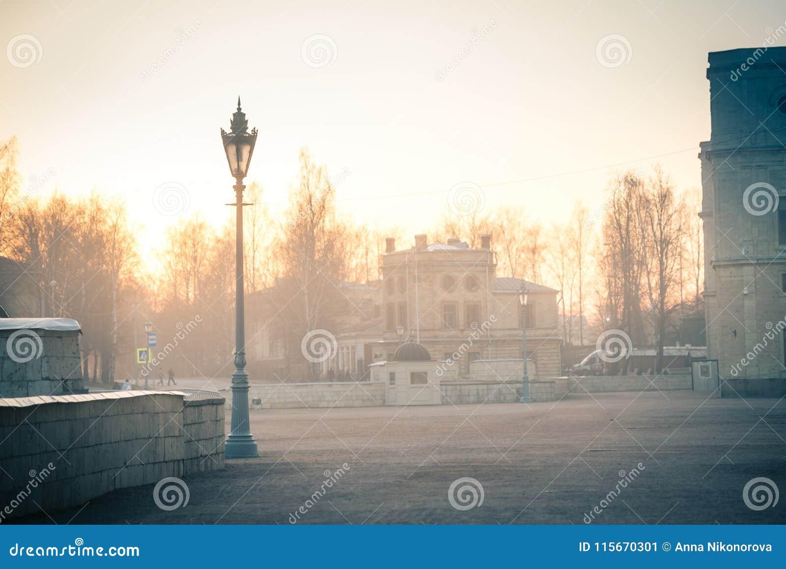 Παλάτι της Γκάτσινα στην ομίχλη