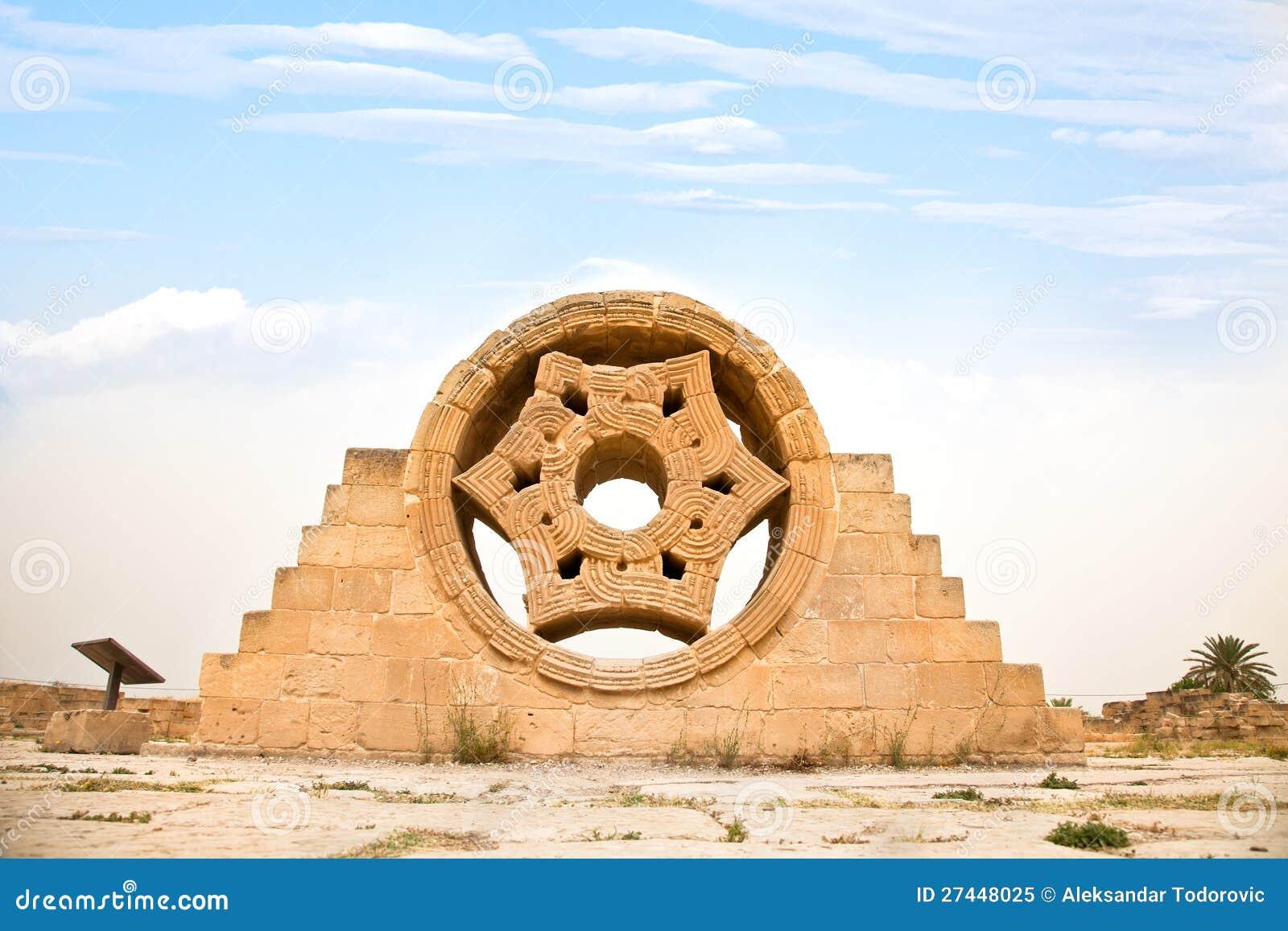 Παλάτι του Hisham στο Jericho. Ισραήλ