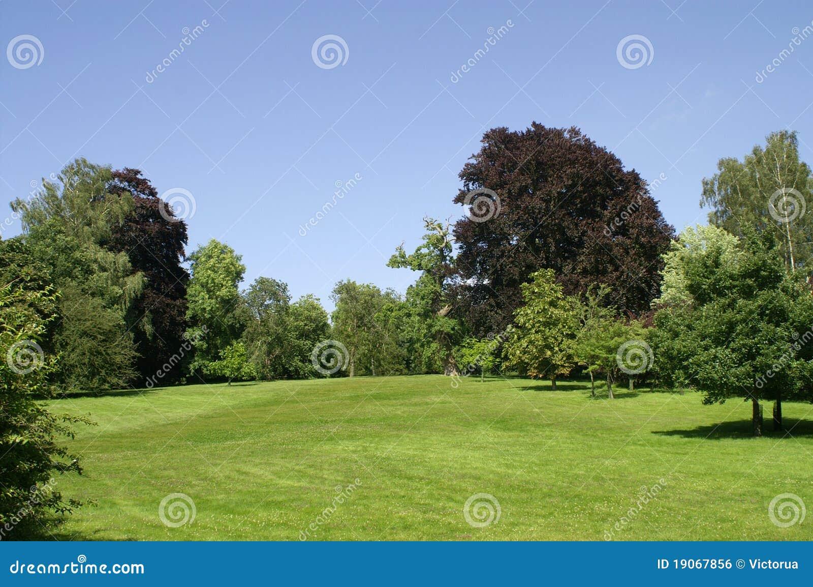 Παλάτι Blenheim. Κήπος.