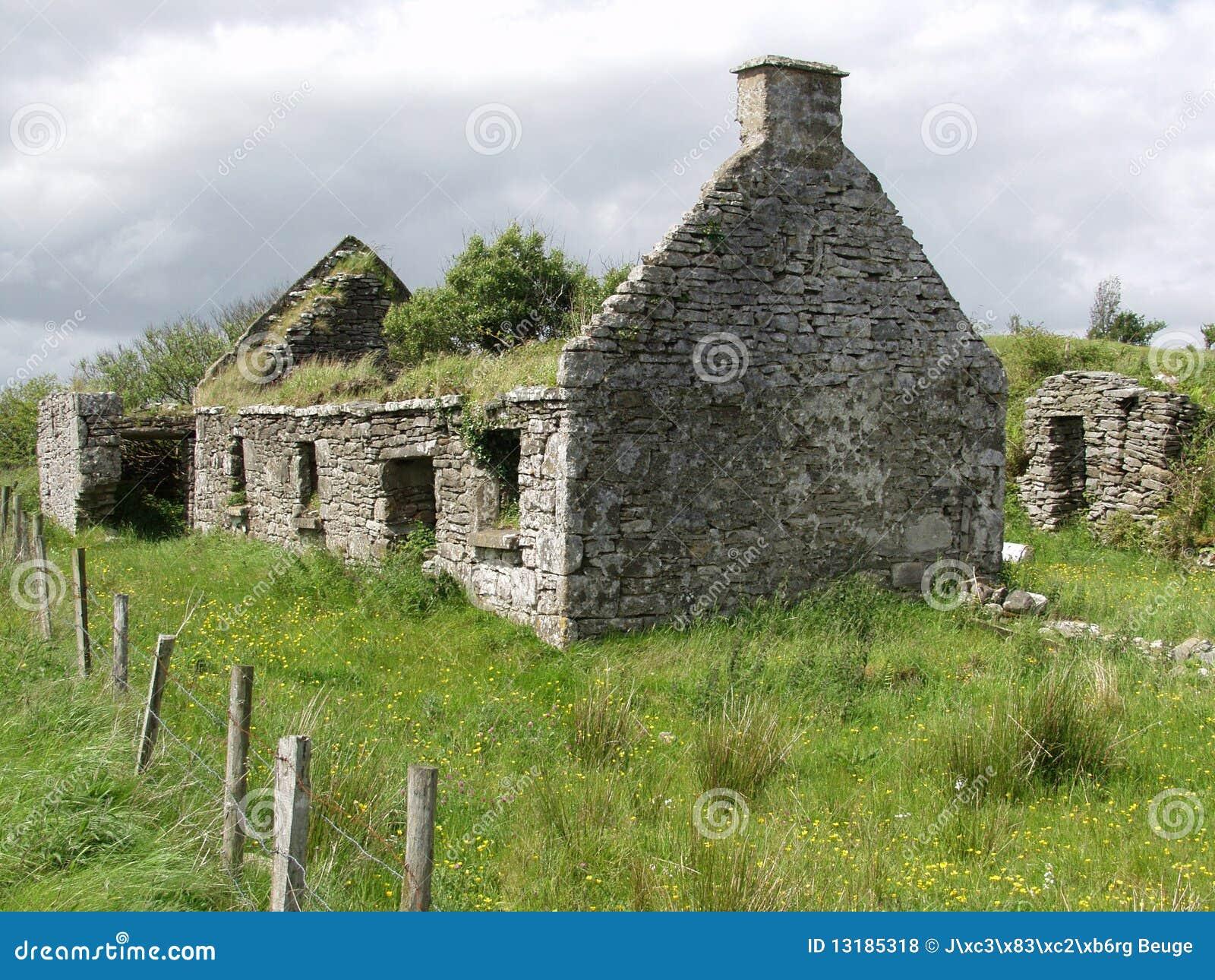 παλαιά δύση της Ιρλανδίας &e