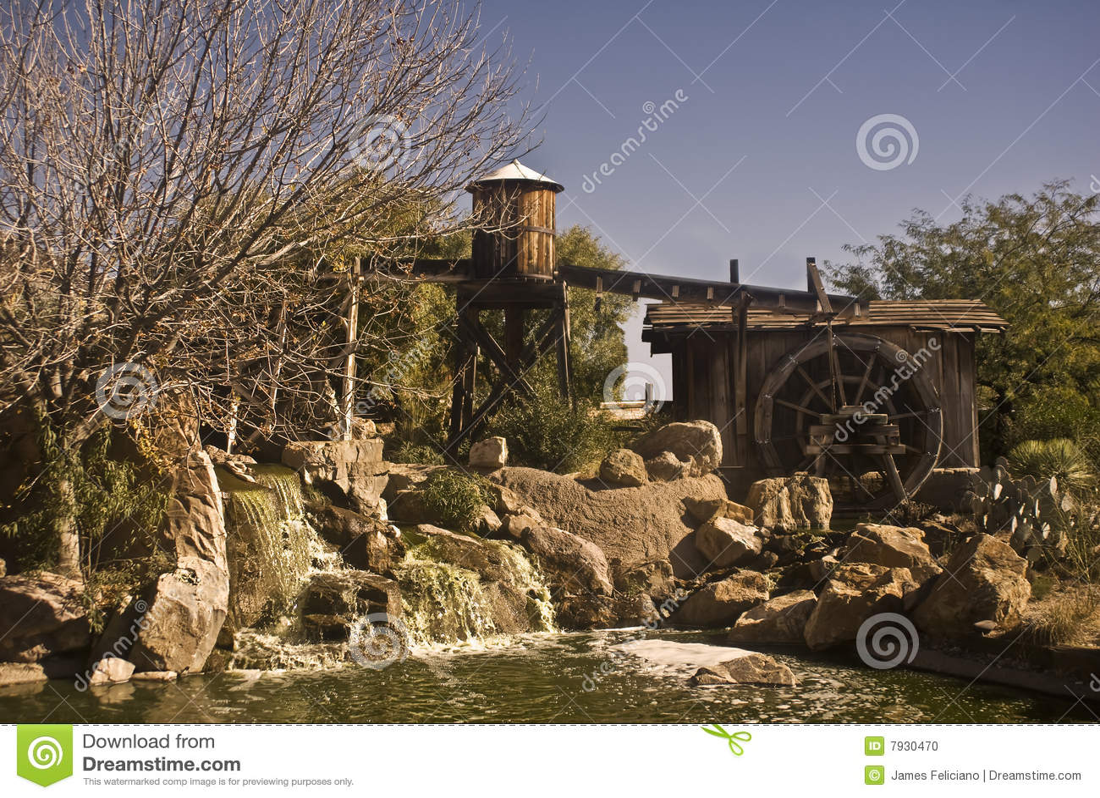 παλαιά δύση υδάτινων έργων