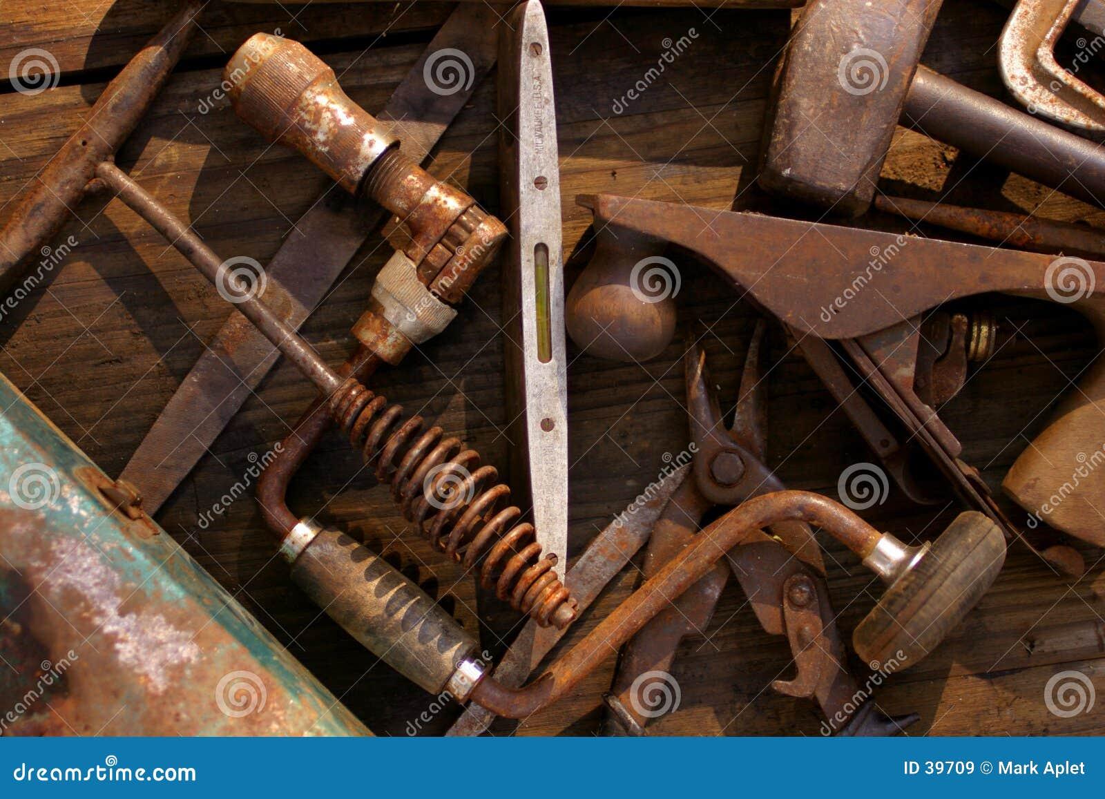 παλαιά εργαλεία χεριών