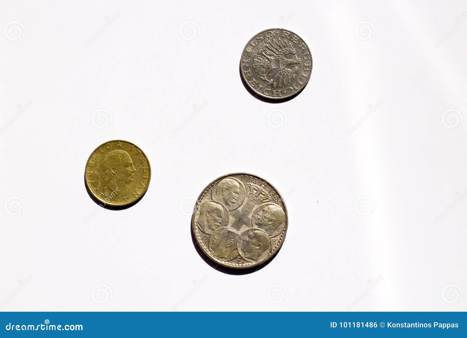 παλαιά νομίσματα τα βασιλικά ελληνικά