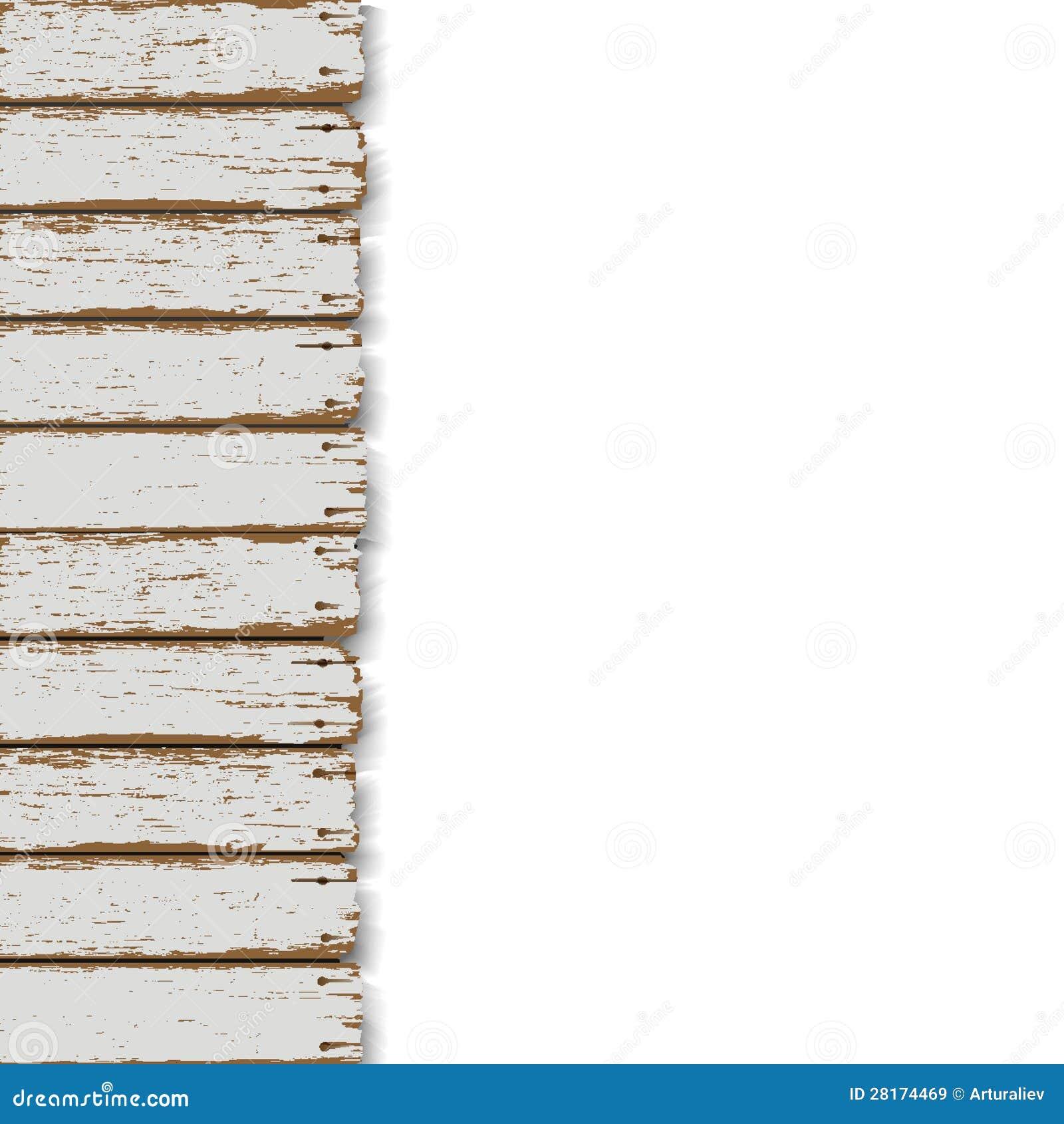 Παλαιά ξύλινη φραγή