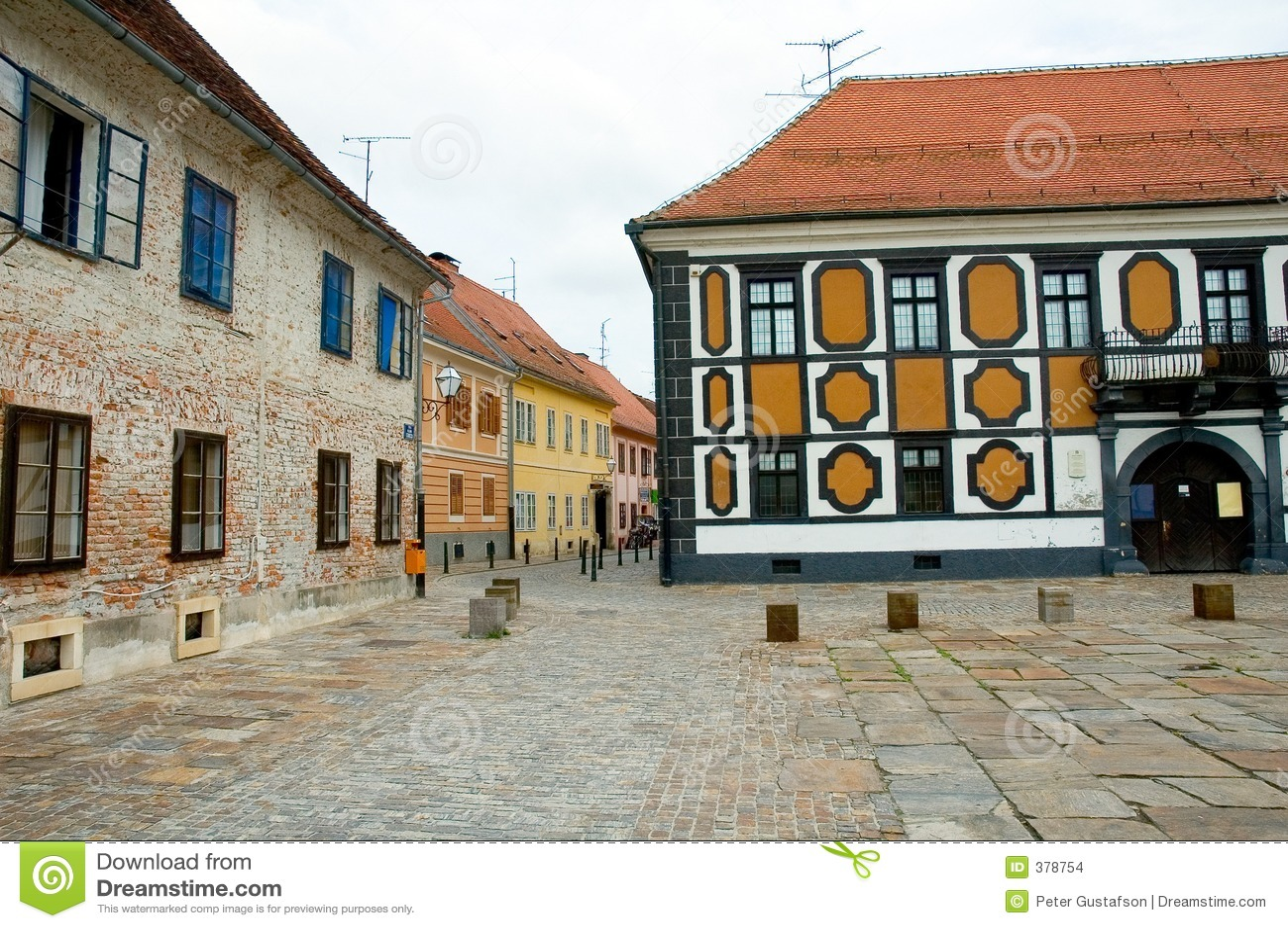 παλαιά πλατεία της Ευρώπης