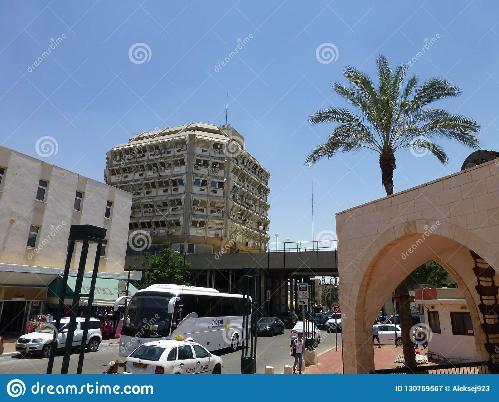Παλαιά πόλη στην μπύρα Sheva στο Ισραήλ