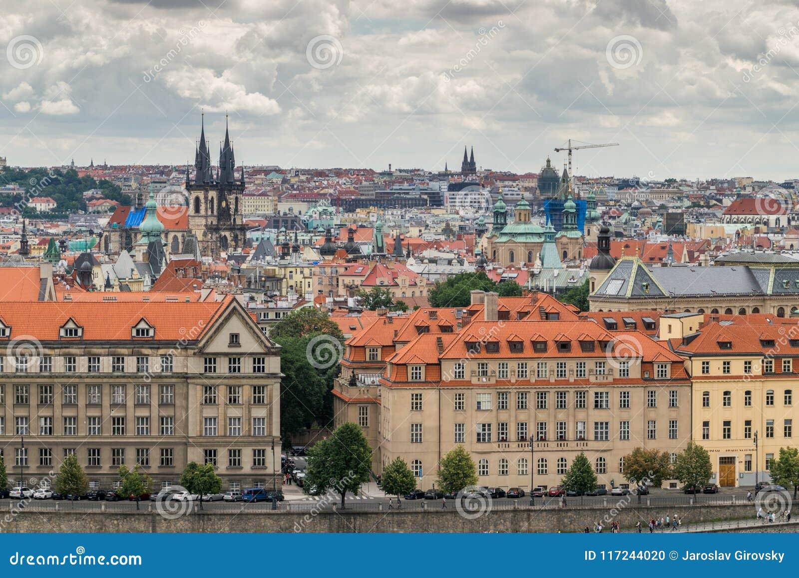 παλαιά πόλη της Πράγας