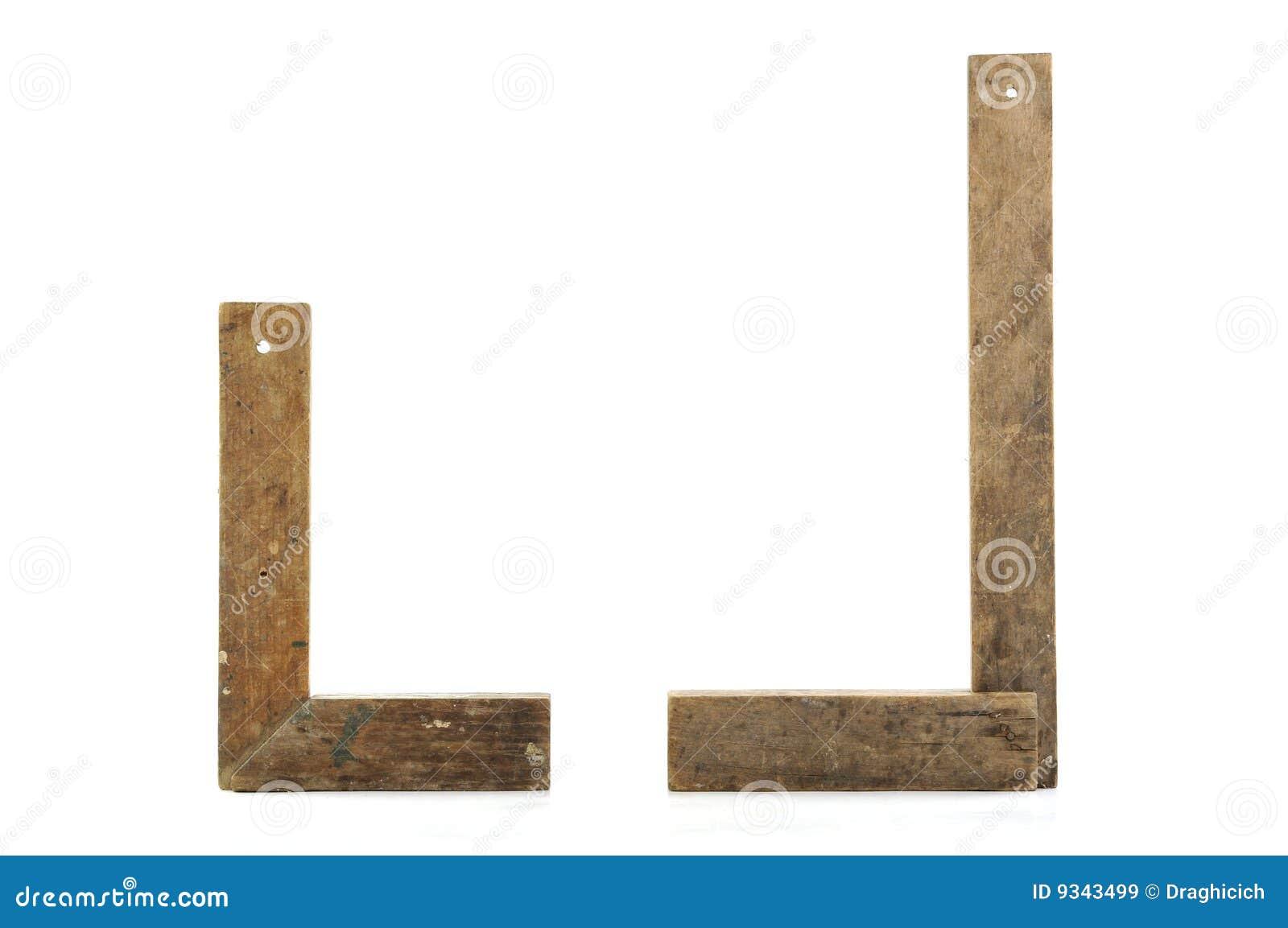 παλαιά τετράγωνα δύο ξυλ&omicr