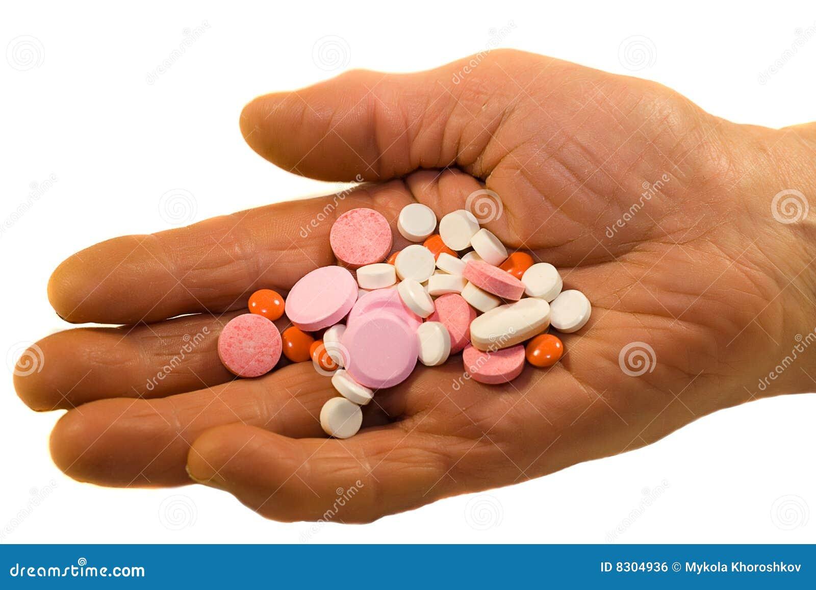 παλαιά χάπια προσώπων ιατρι&