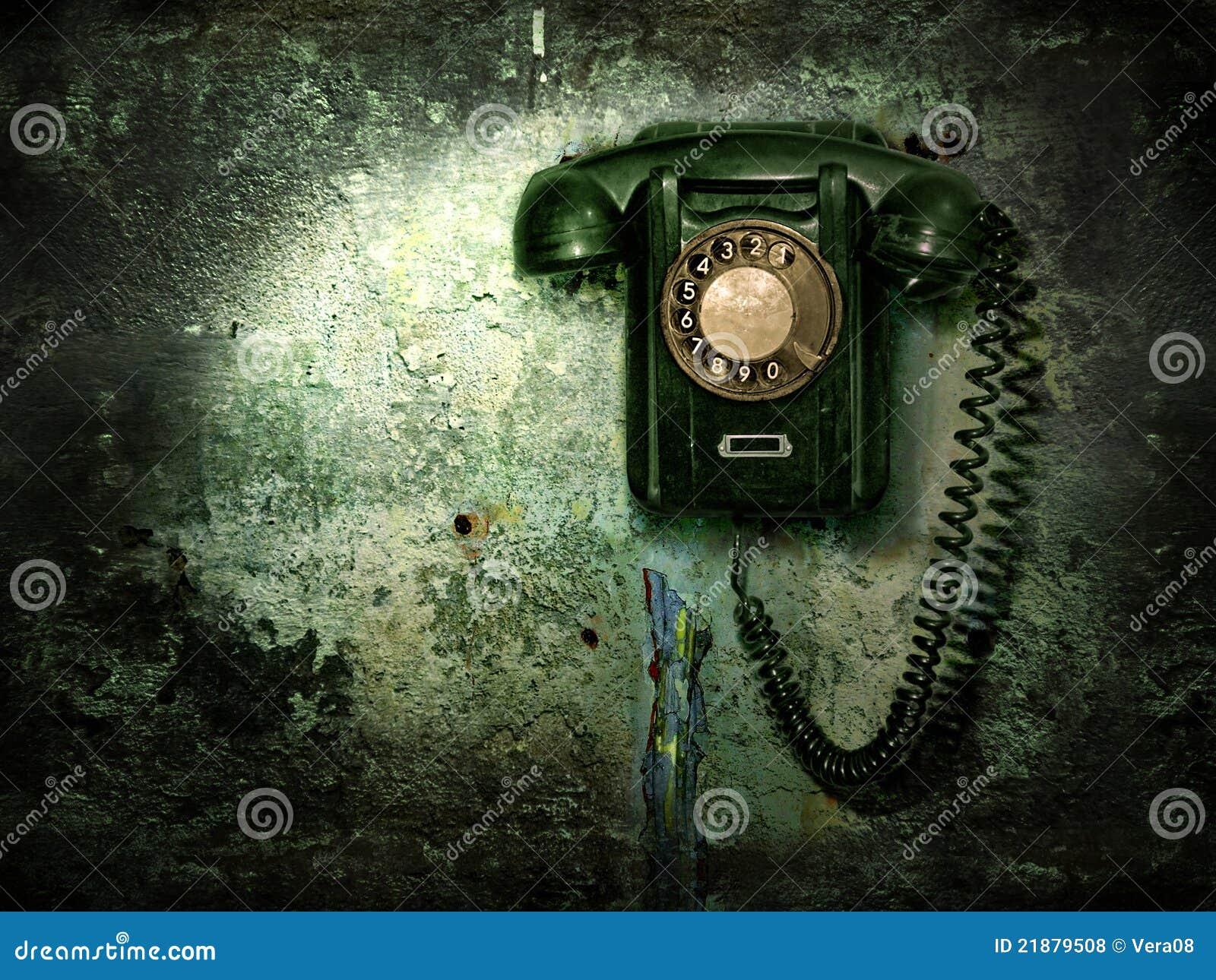 παλαιός τηλεφωνικός τοίχ&o