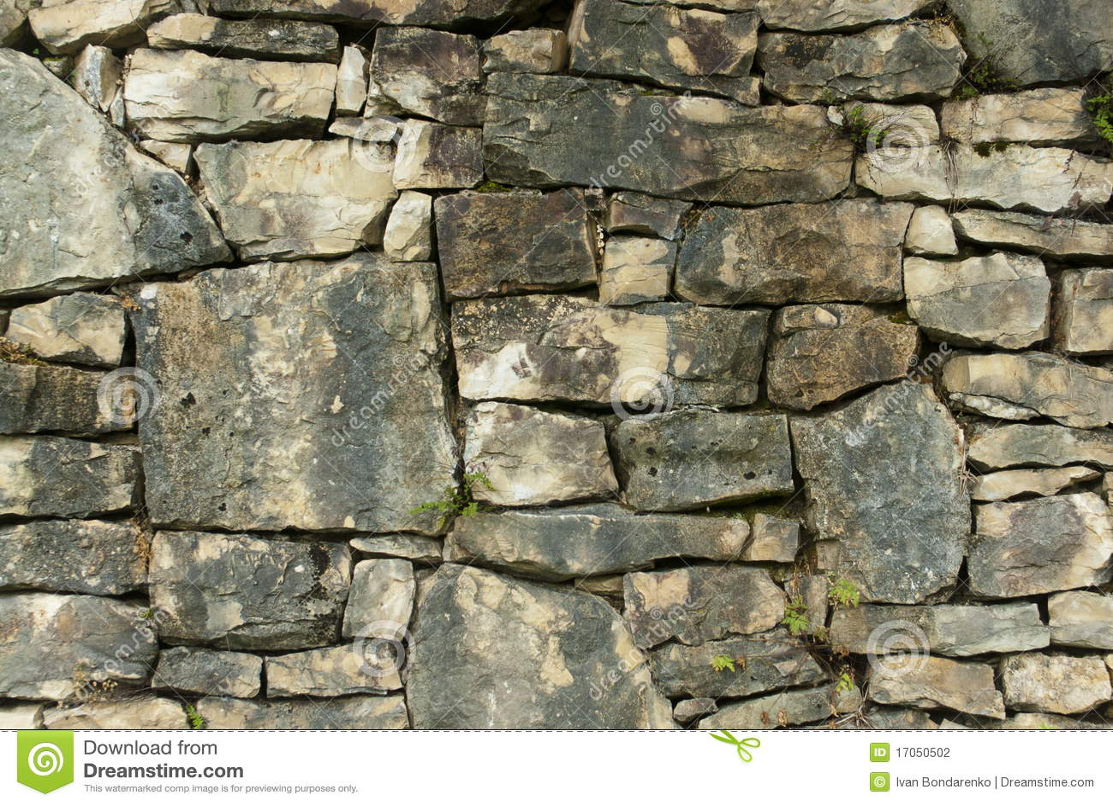 παλαιός τοίχος πετρών