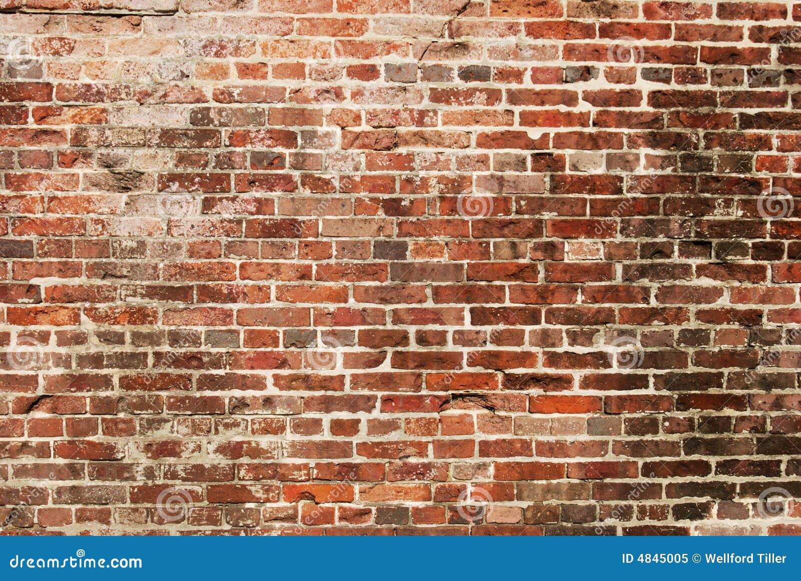 παλαιός τοίχος τούβλου