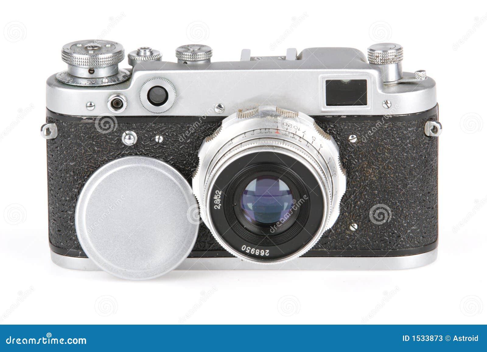 παλαιός φωτογραφικός fotokamera &sig