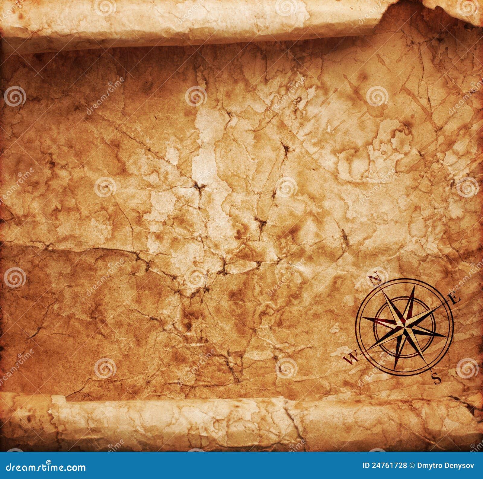 Παλαιός χάρτης θησαυρών
