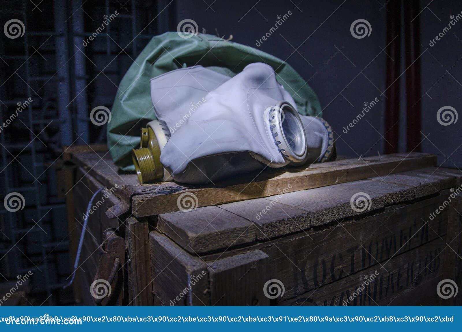 Παλαιό, βιομηχανικό σύστημα φίλτρο-εξαερισμού, στο υπόγειο ενός εγκαταλειμμένου καταφυγίου βομβών