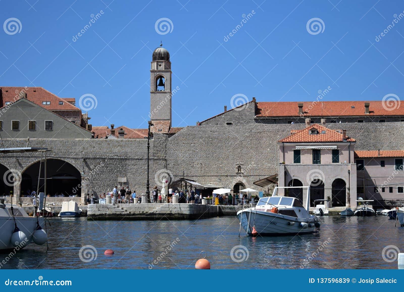 Παλαιό λιμάνι Dubrovnik, Κροατία