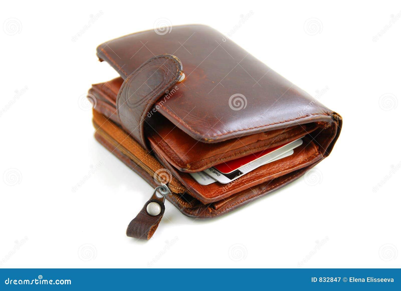 παλαιό πορτοφόλι