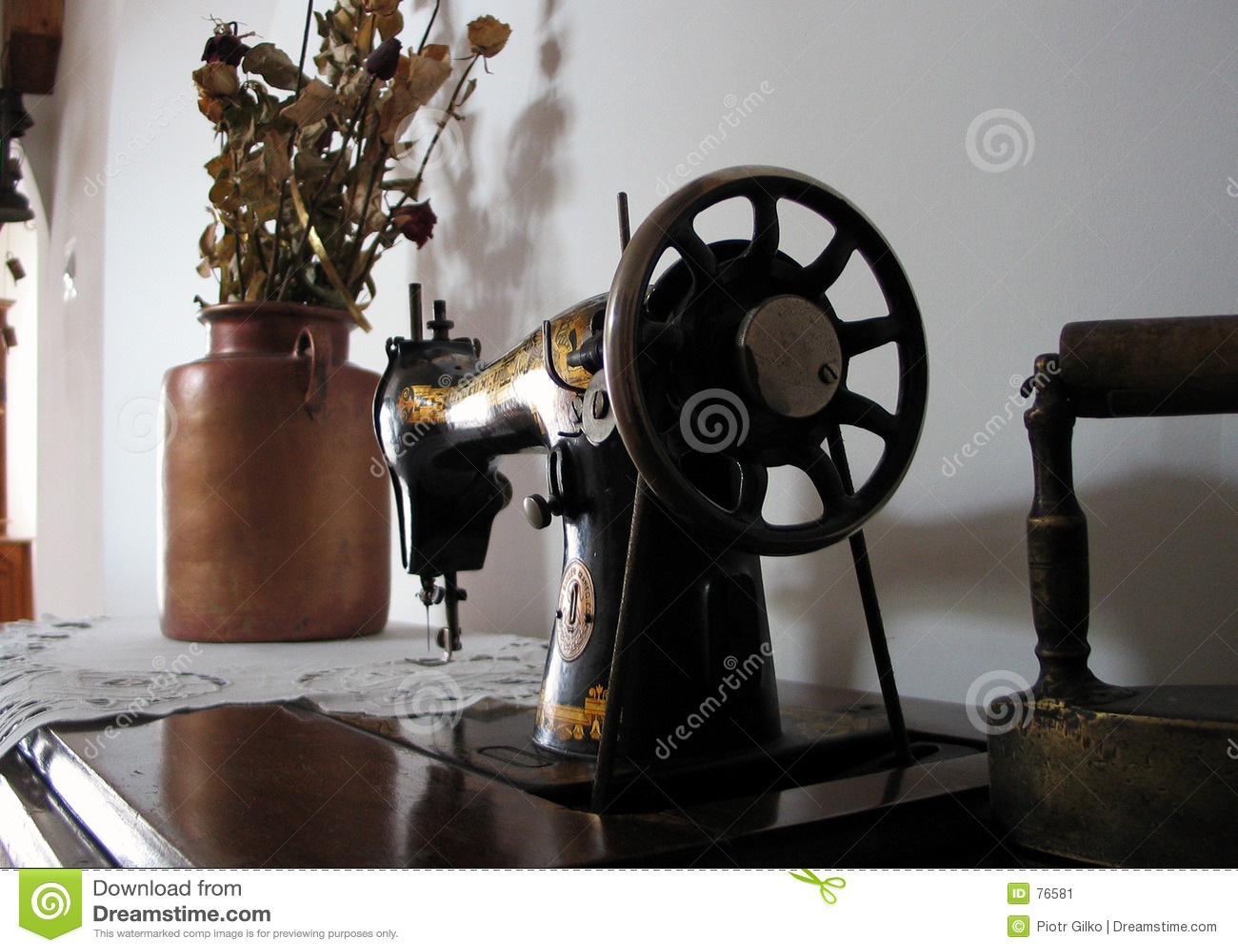 παλαιό ράψιμο μηχανών