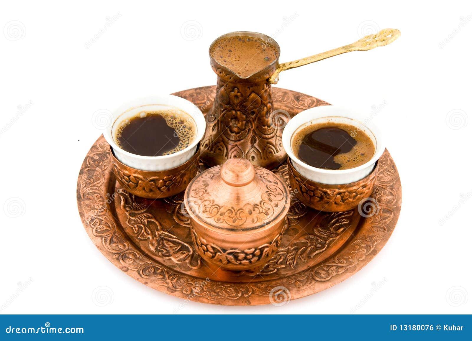 παλαιό σύνολο καφέ