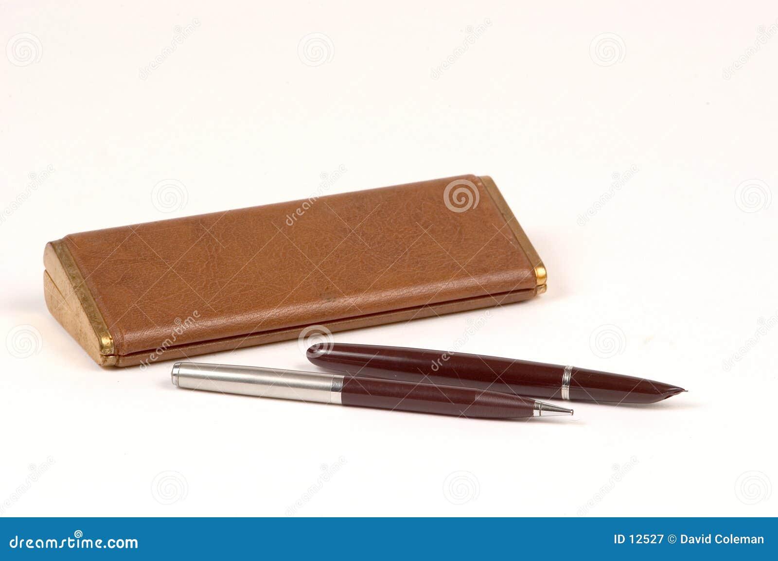 παλαιό σύνολο μολυβιών π&epsi
